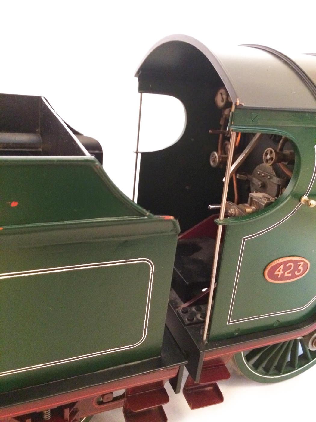 test 3 and a half inch gauge GCR Sir Sam Fay I Class live steam locomotive for sale 20