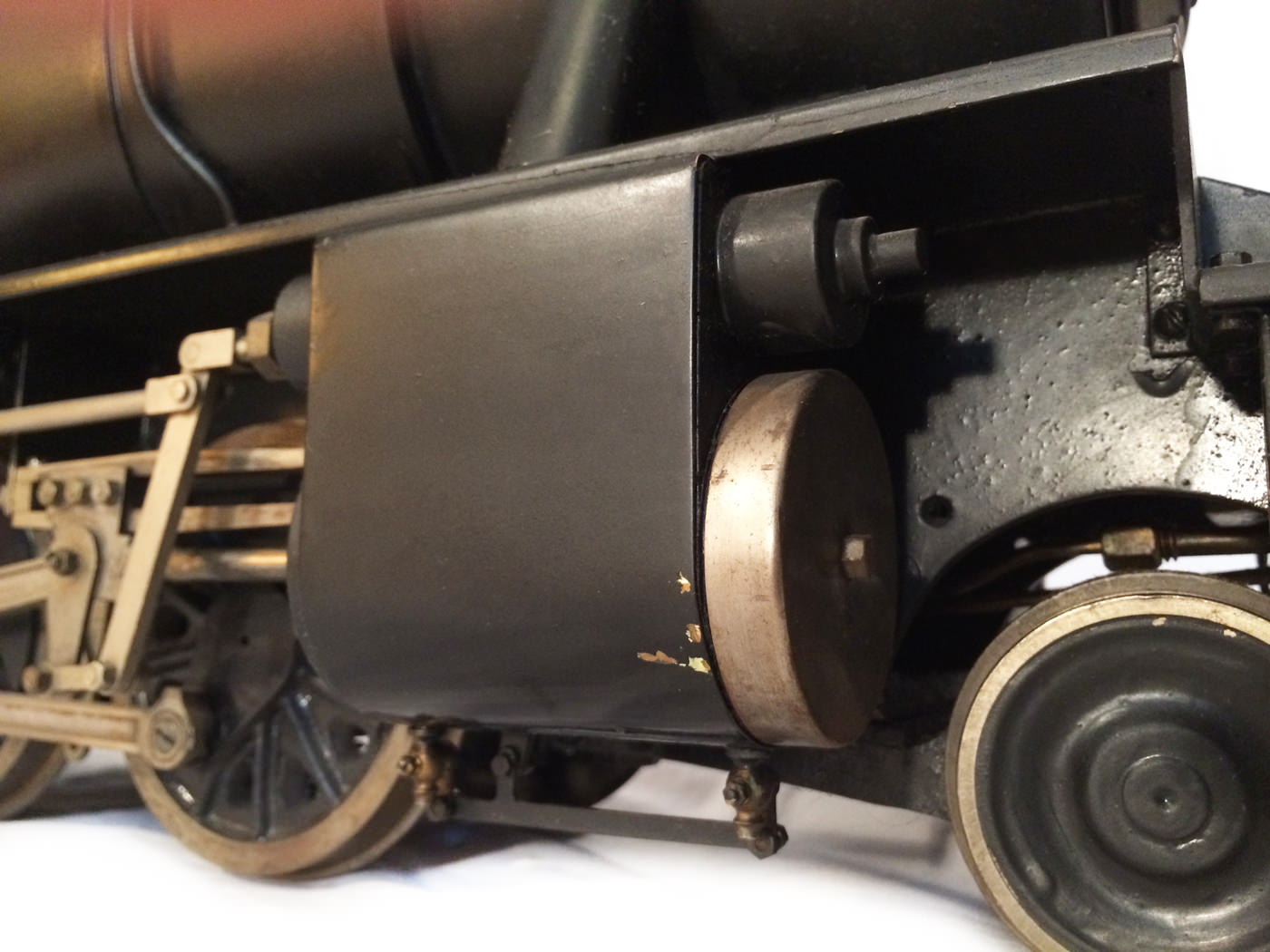 test 3 and a half inch gauge WD Austerity live steam locomotive for sale 01
