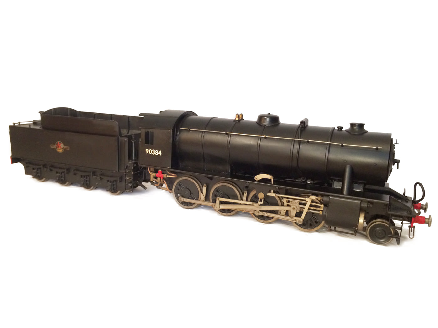 test 3 and a half inch gauge WD Austerity live steam locomotive for sale 02