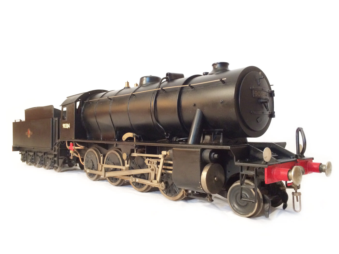 test 3 and a half inch gauge WD Austerity live steam locomotive for sale 06