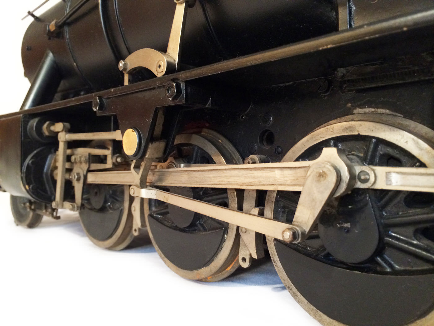 test 3 and a half inch gauge WD Austerity live steam locomotive for sale 07