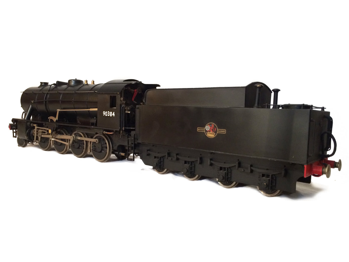 test 3 and a half inch gauge WD Austerity live steam locomotive for sale 17