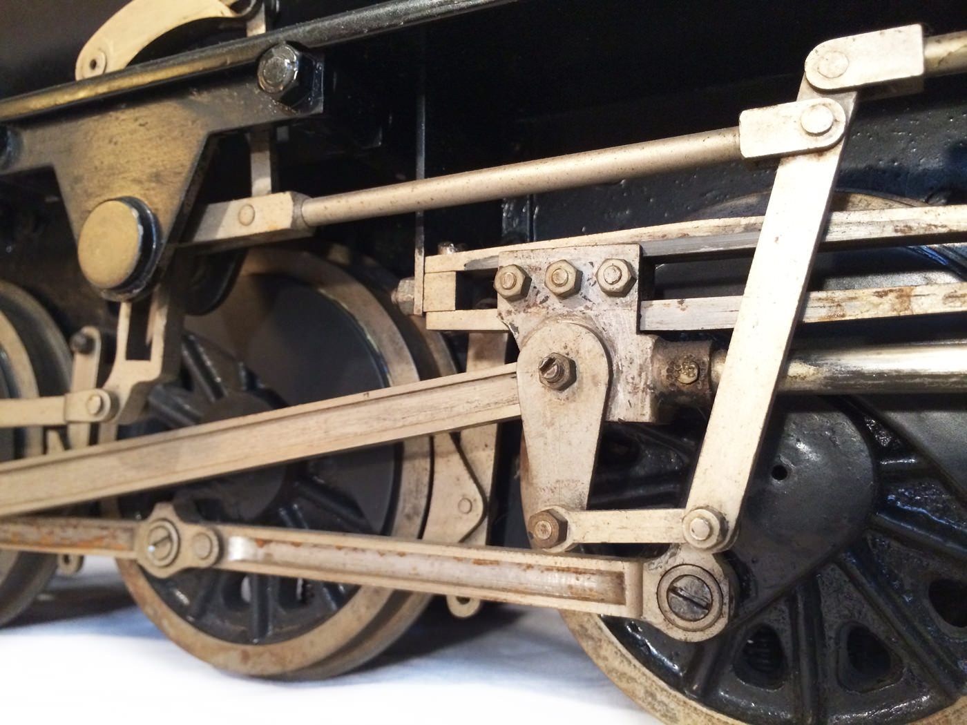 test 3 and a half inch gauge WD Austerity live steam locomotive for sale 18