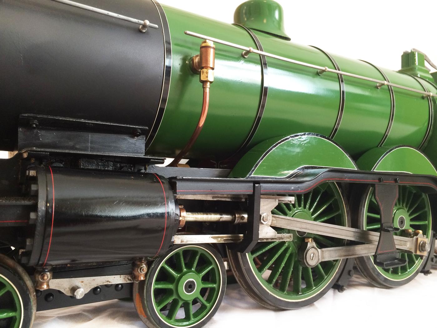 test 3 inch gauge Ivatt C1 Atlantic LBSC Maisie live steam locomotive for sale 19