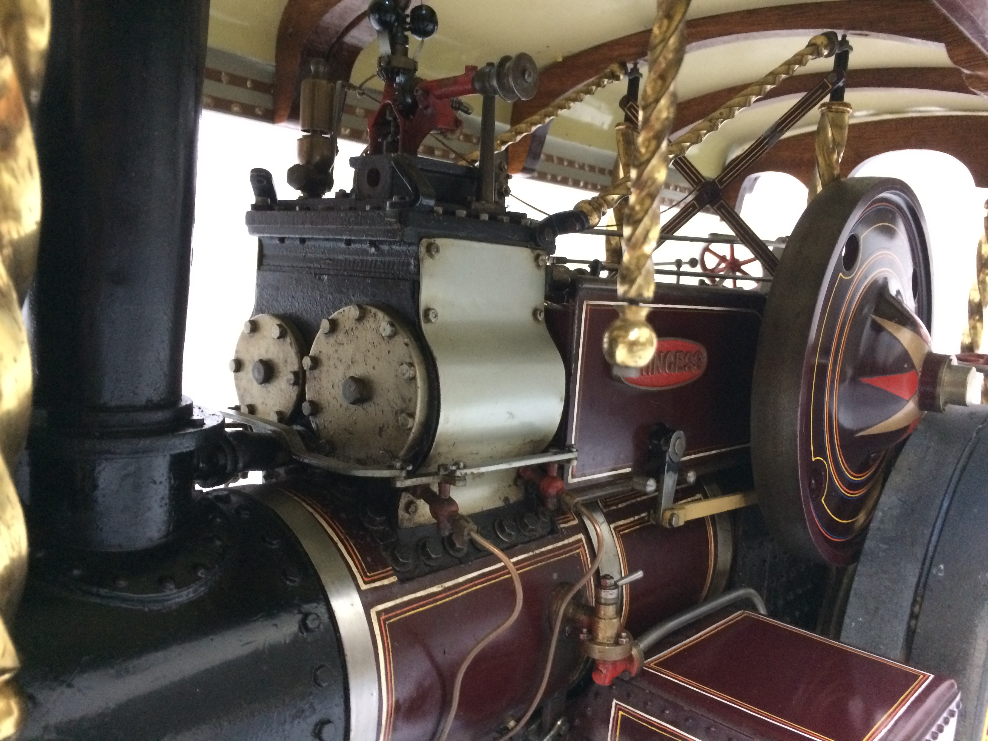 test 2 scale Fowler Showmans Engine Princess live steam traction engine for sale 02