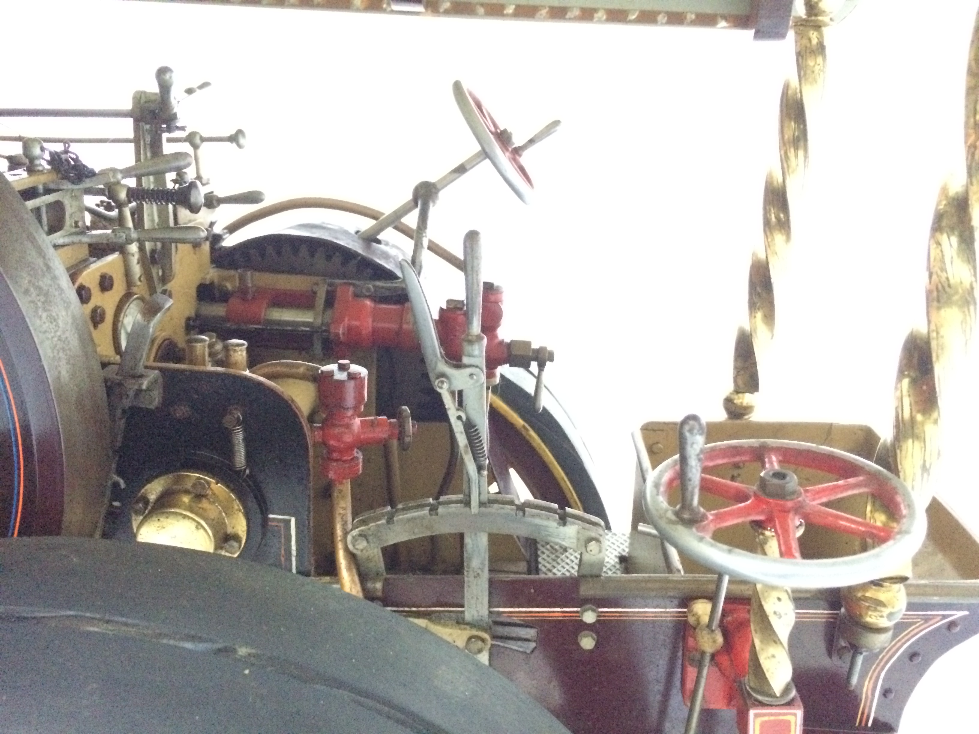 test 2 scale Fowler Showmans Engine Princess live steam traction engine for sale 09