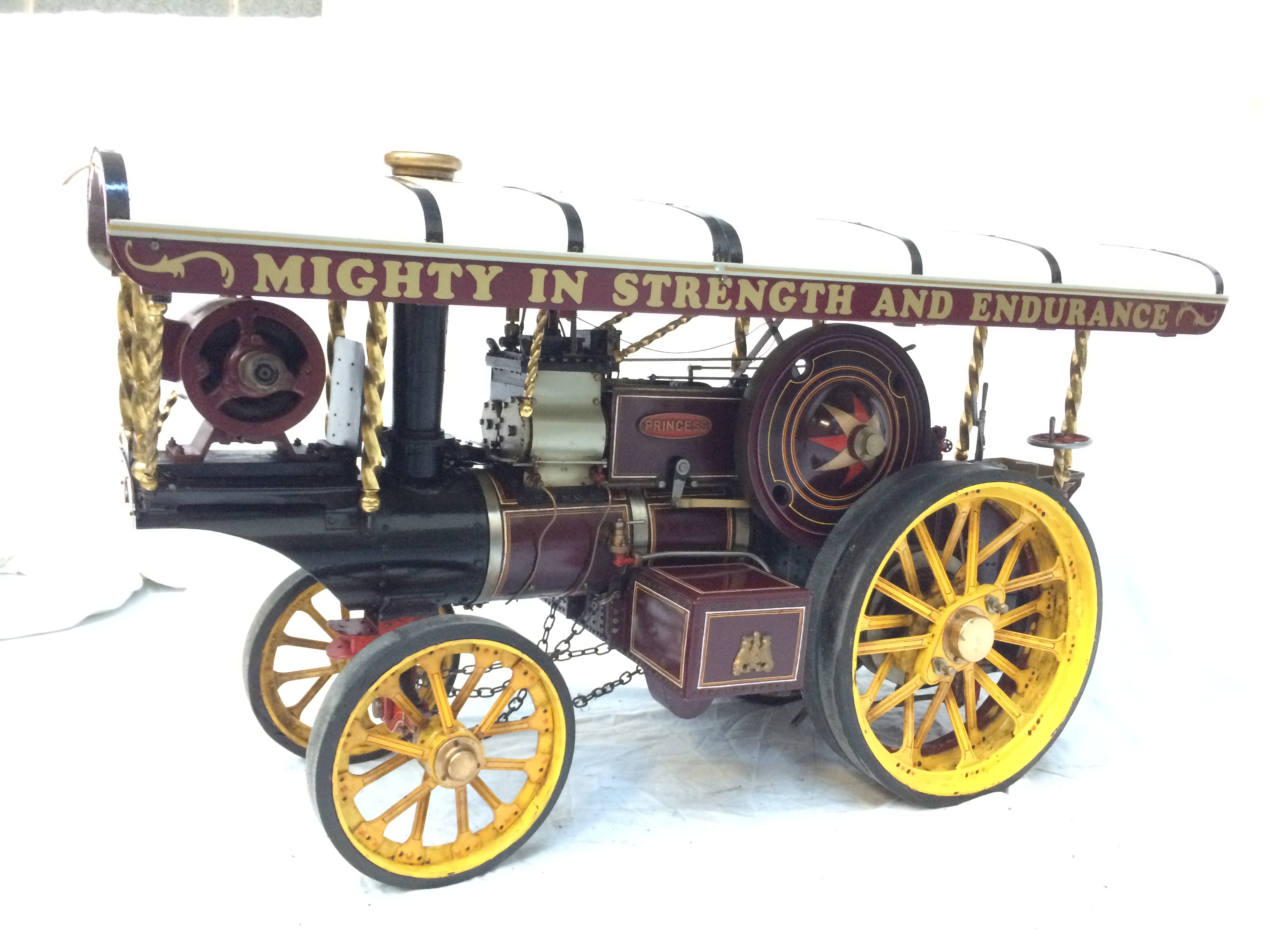test 2 scale Fowler Showmans Engine Princess live steam traction engine for sale 10