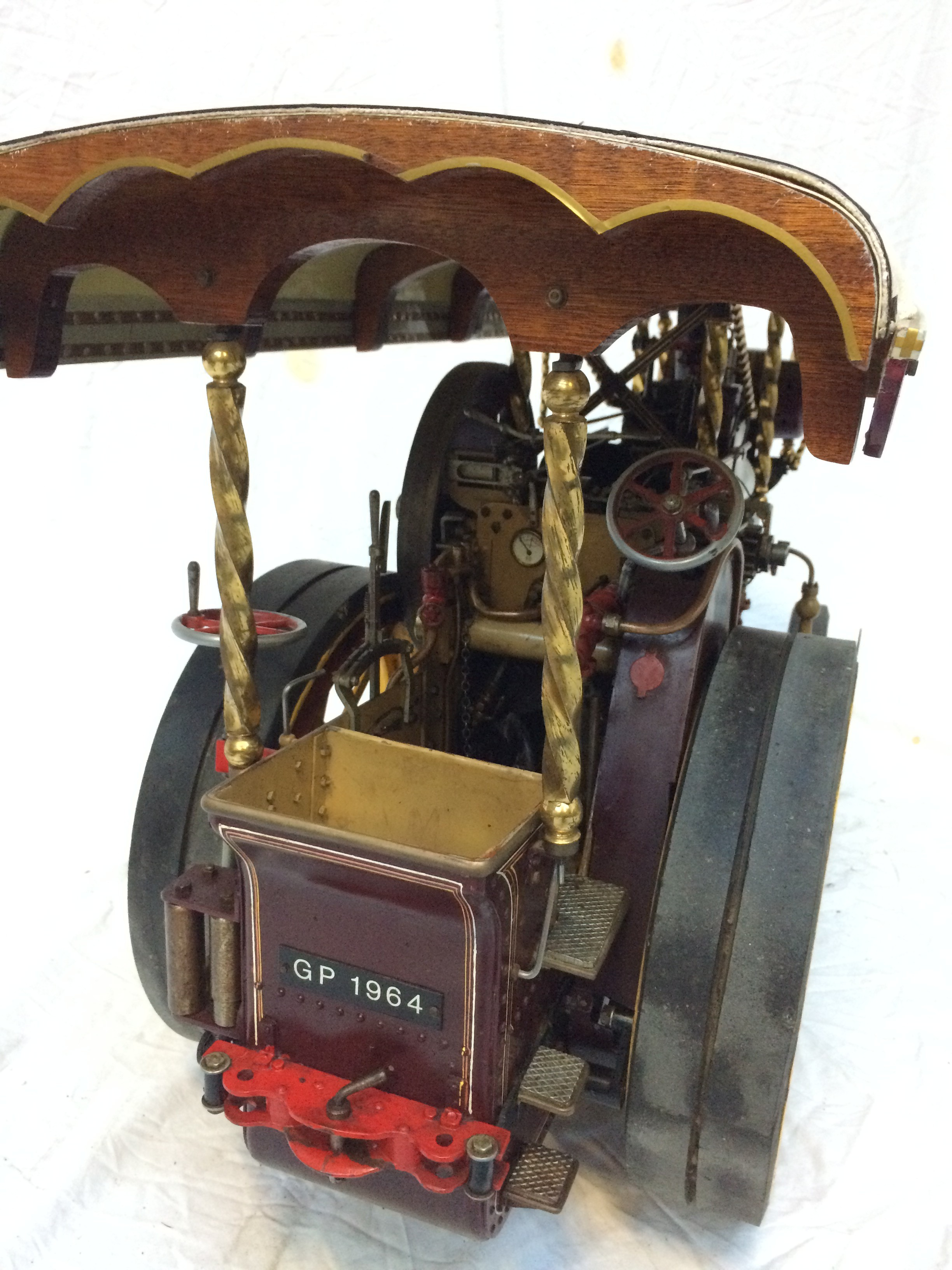 test 2 scale Fowler Showmans Engine Princess live steam traction engine for sale 11