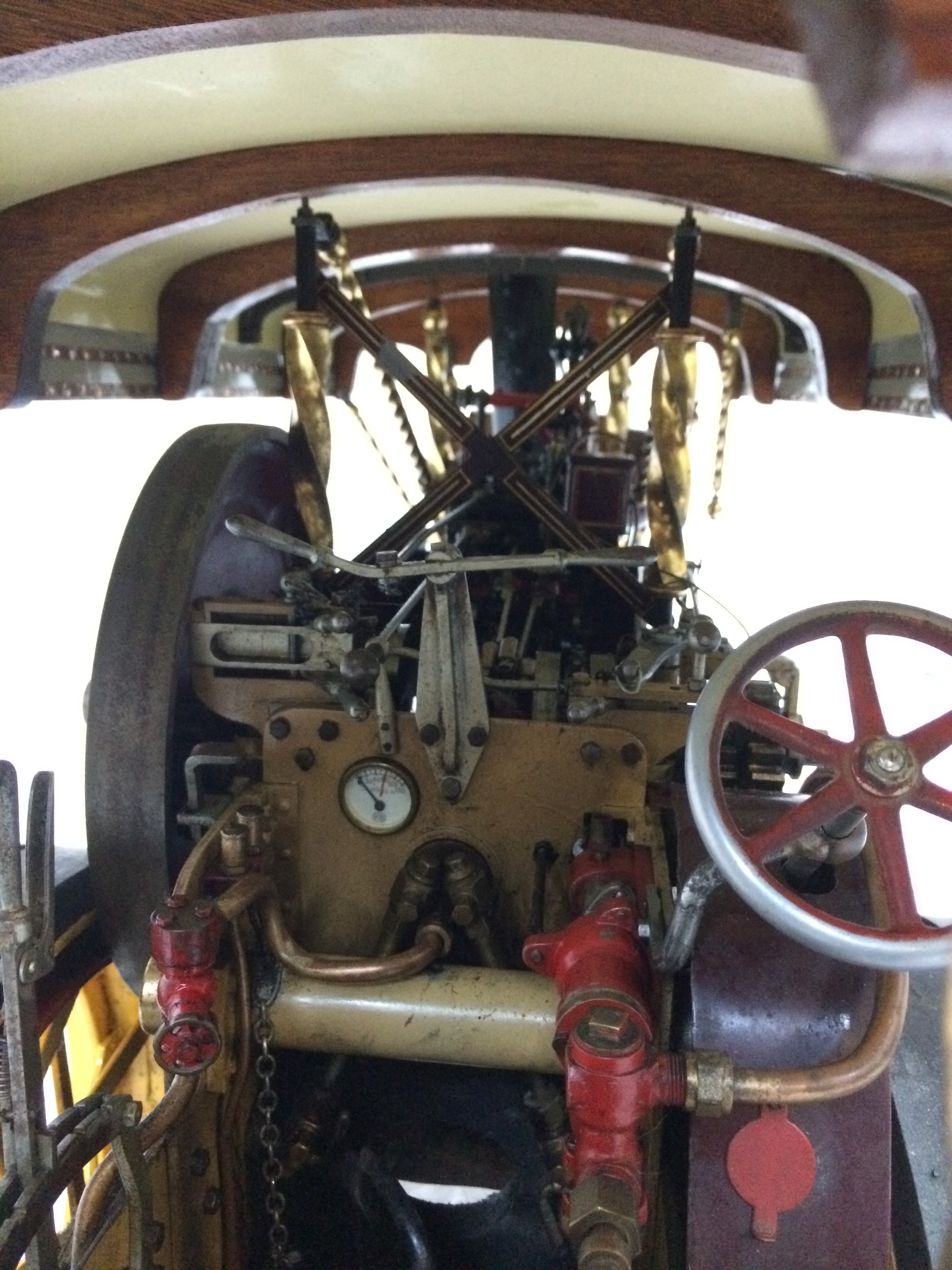 test 2 scale Fowler Showmans Engine Princess live steam traction engine for sale 12