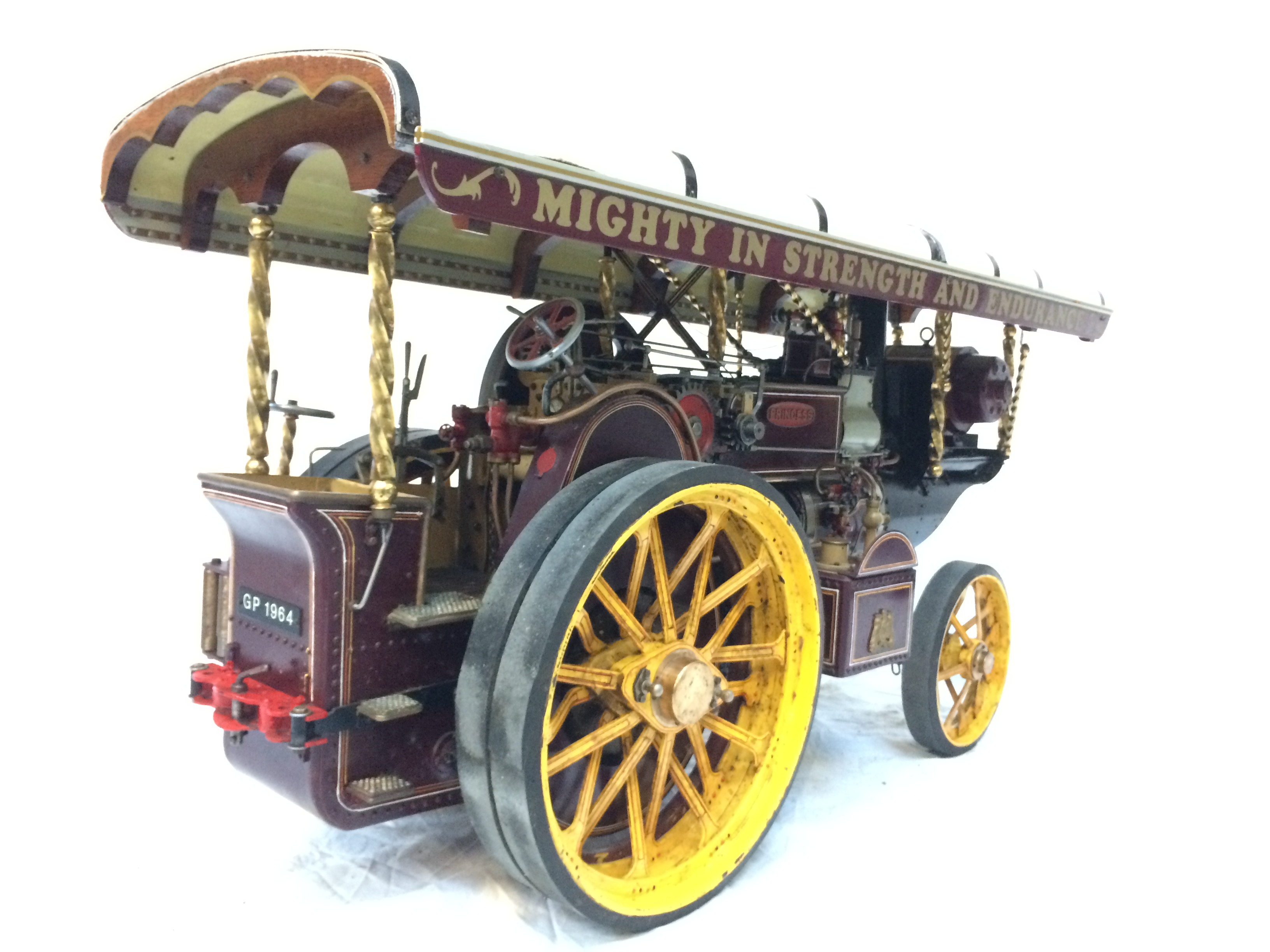 test 2 scale Fowler Showmans Engine Princess live steam traction engine for sale 14