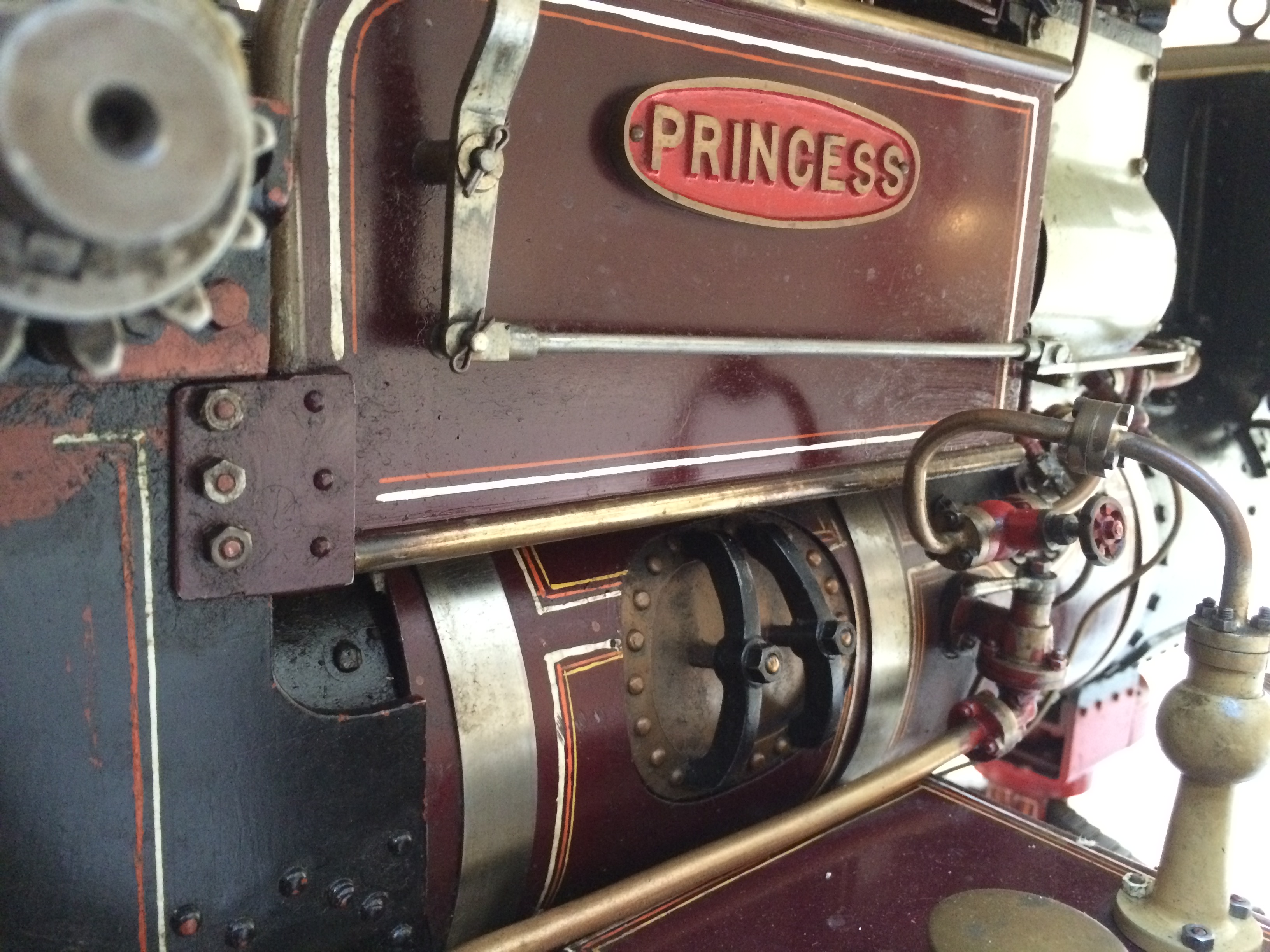 test 2 scale Fowler Showmans Engine Princess live steam traction engine for sale 18