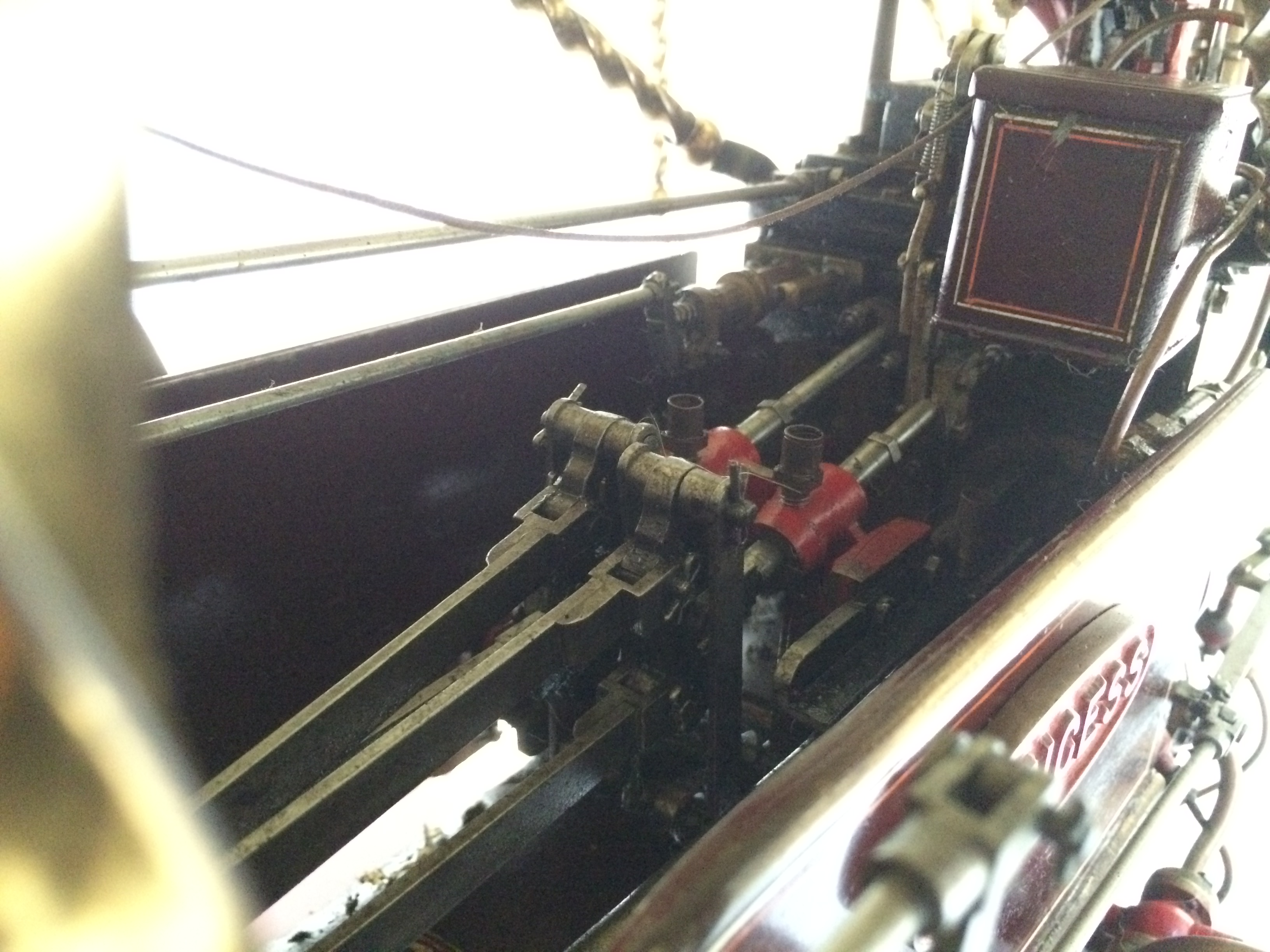 test 2 scale Fowler Showmans Engine Princess live steam traction engine for sale 19