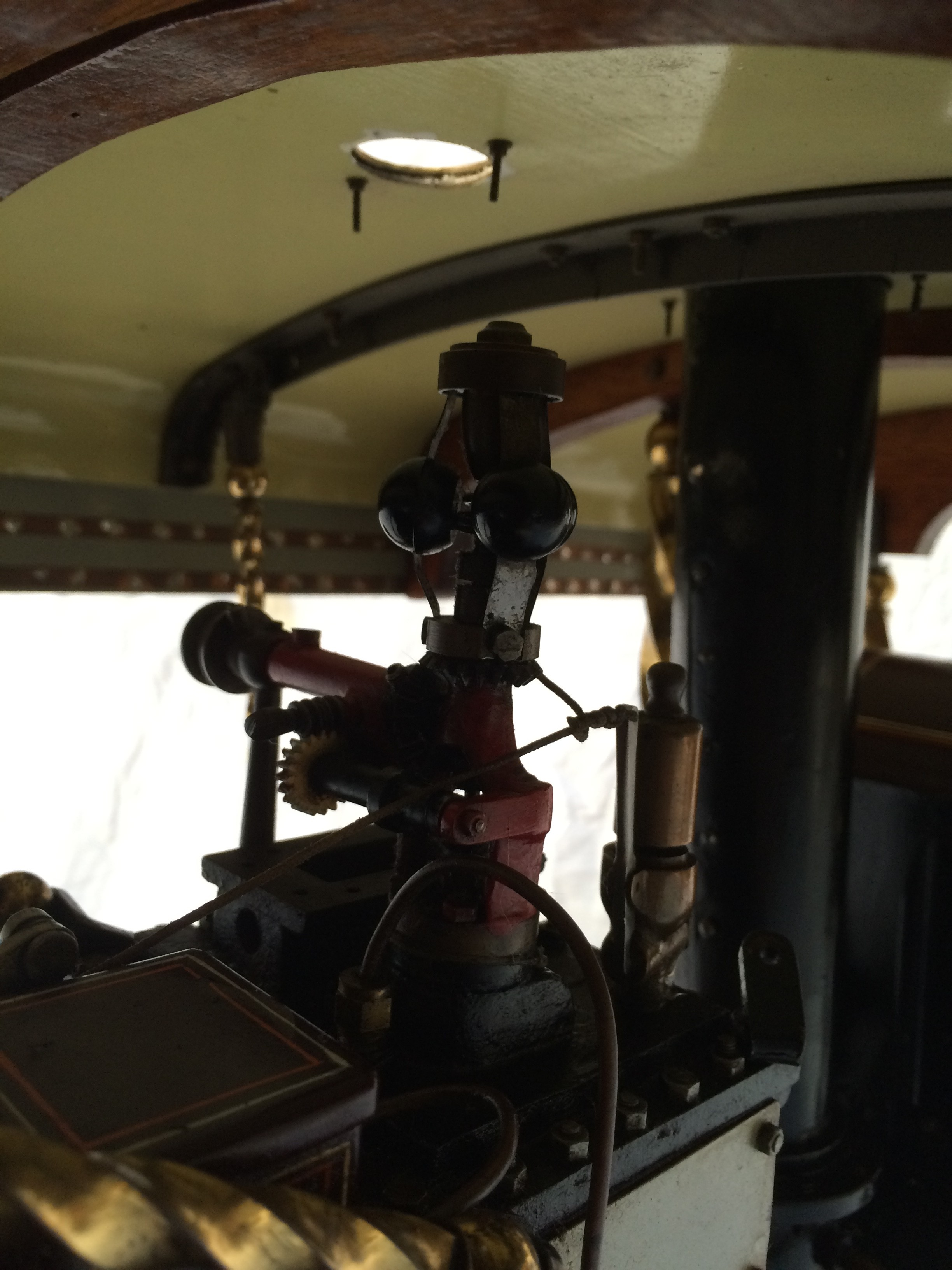 test 2 scale Fowler Showmans Engine Princess live steam traction engine for sale 21