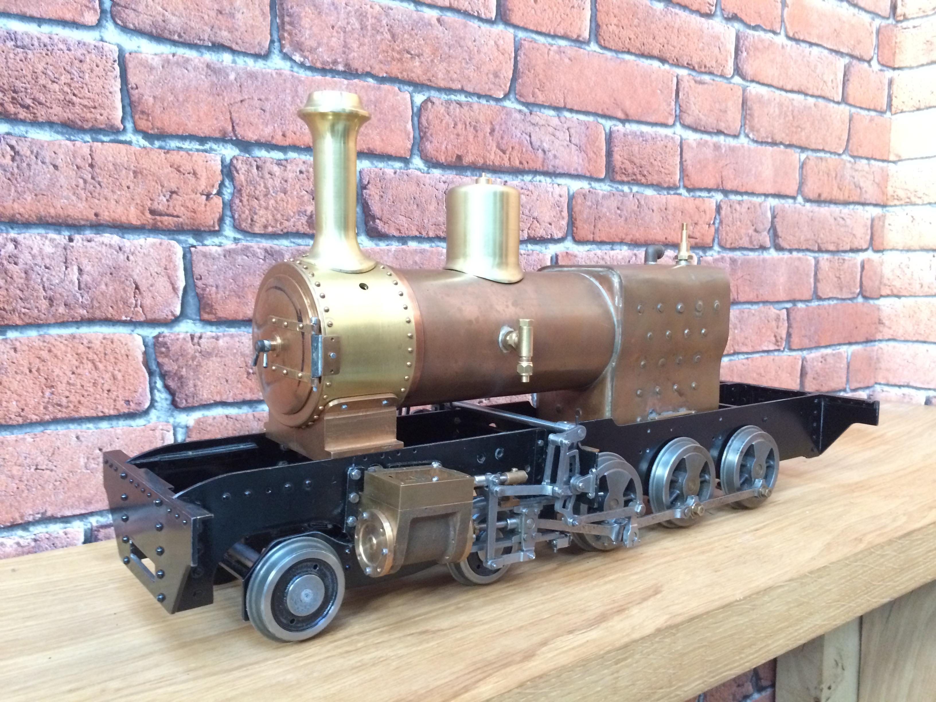 test 3 inch gauge Spencer WD live steam locomotive for sale 01