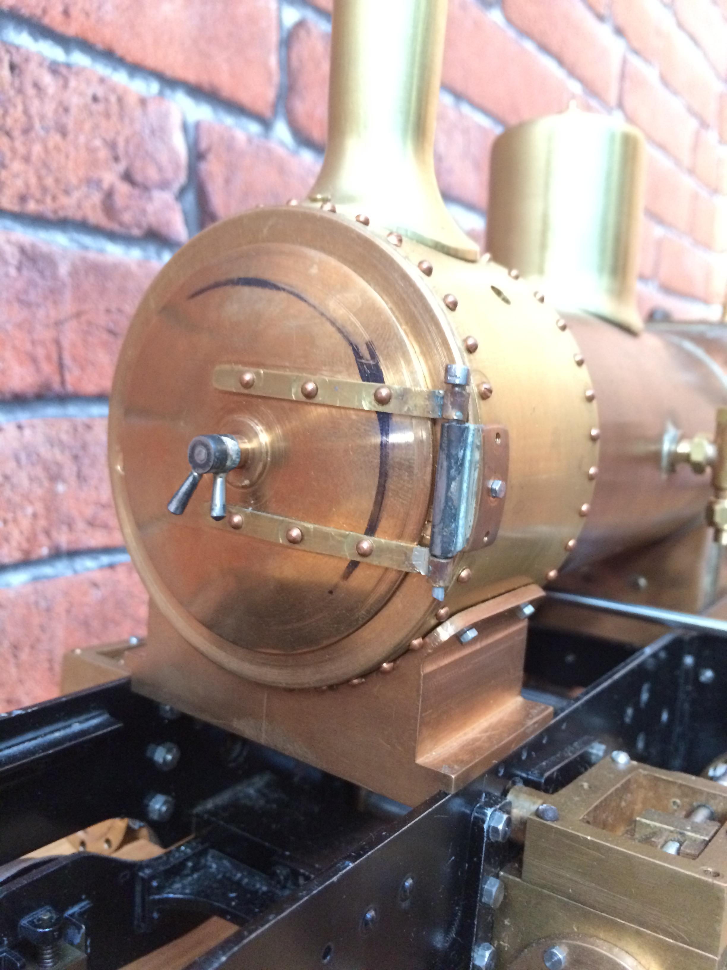 test 3 inch gauge Spencer WD live steam locomotive for sale 02