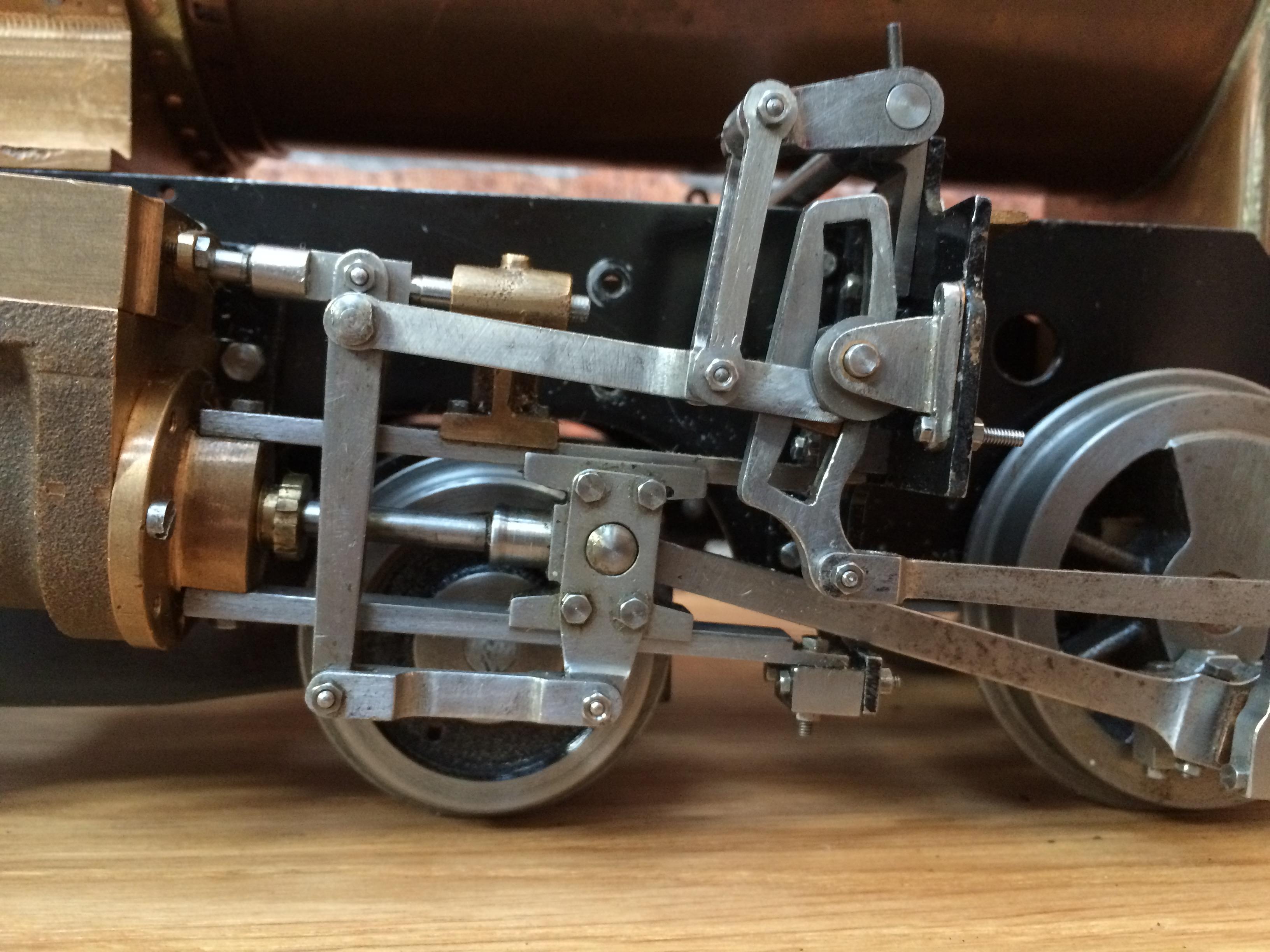 test 3 inch gauge Spencer WD live steam locomotive for sale 04