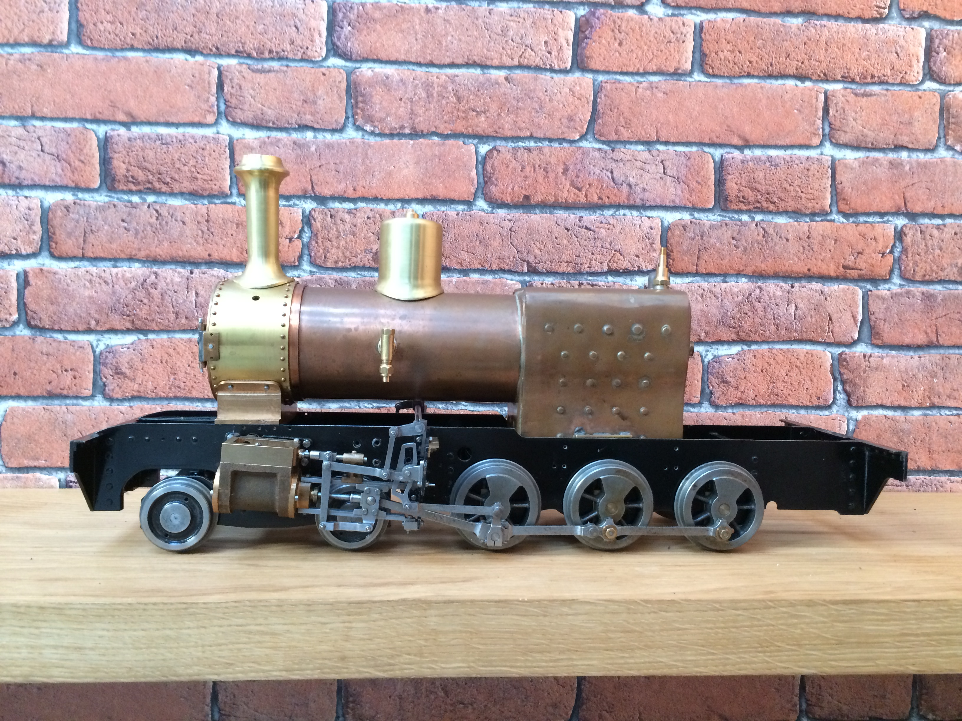 test 3 inch gauge Spencer WD live steam locomotive for sale 05