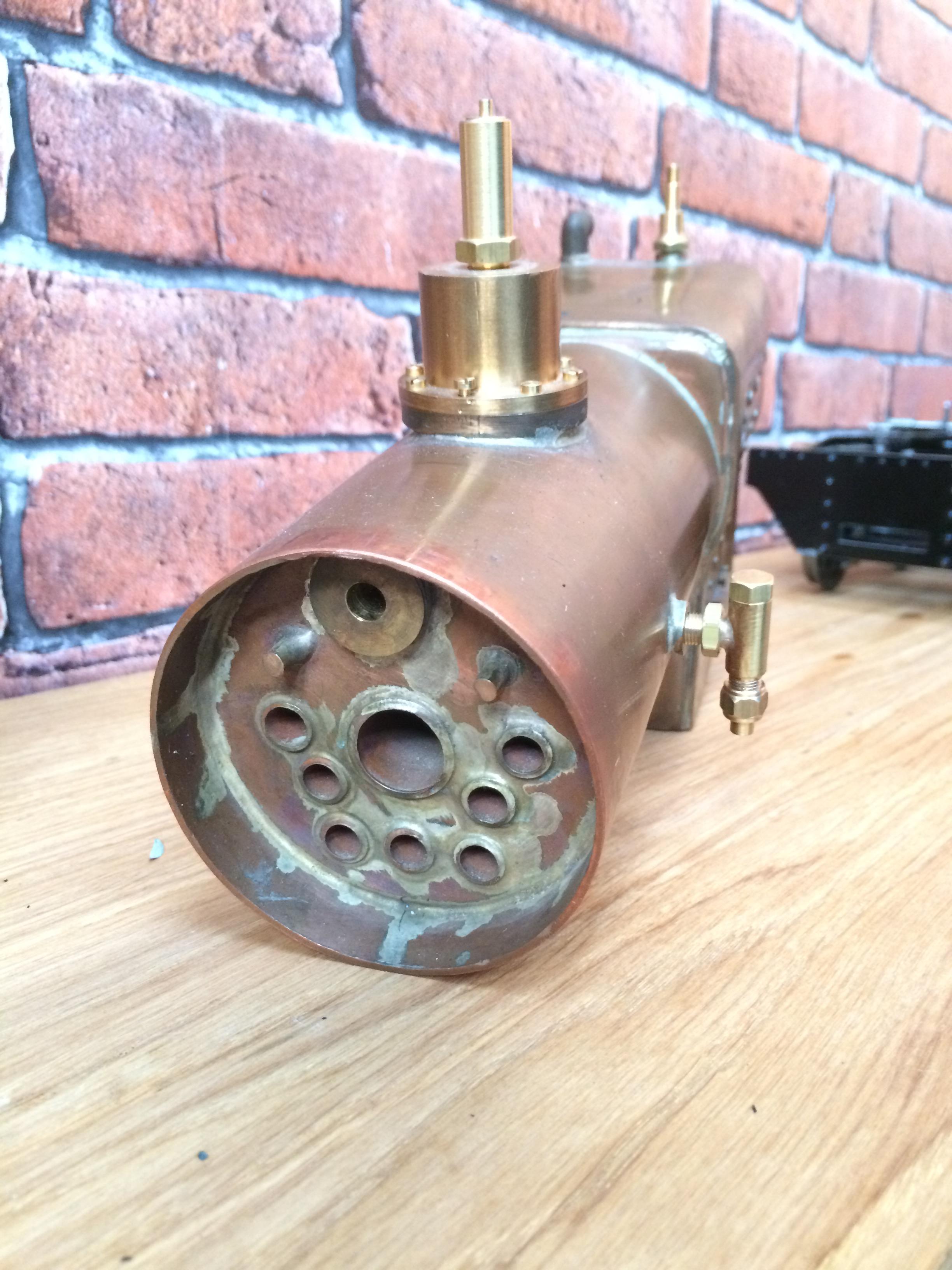 test 3 inch gauge Spencer WD live steam locomotive for sale 11