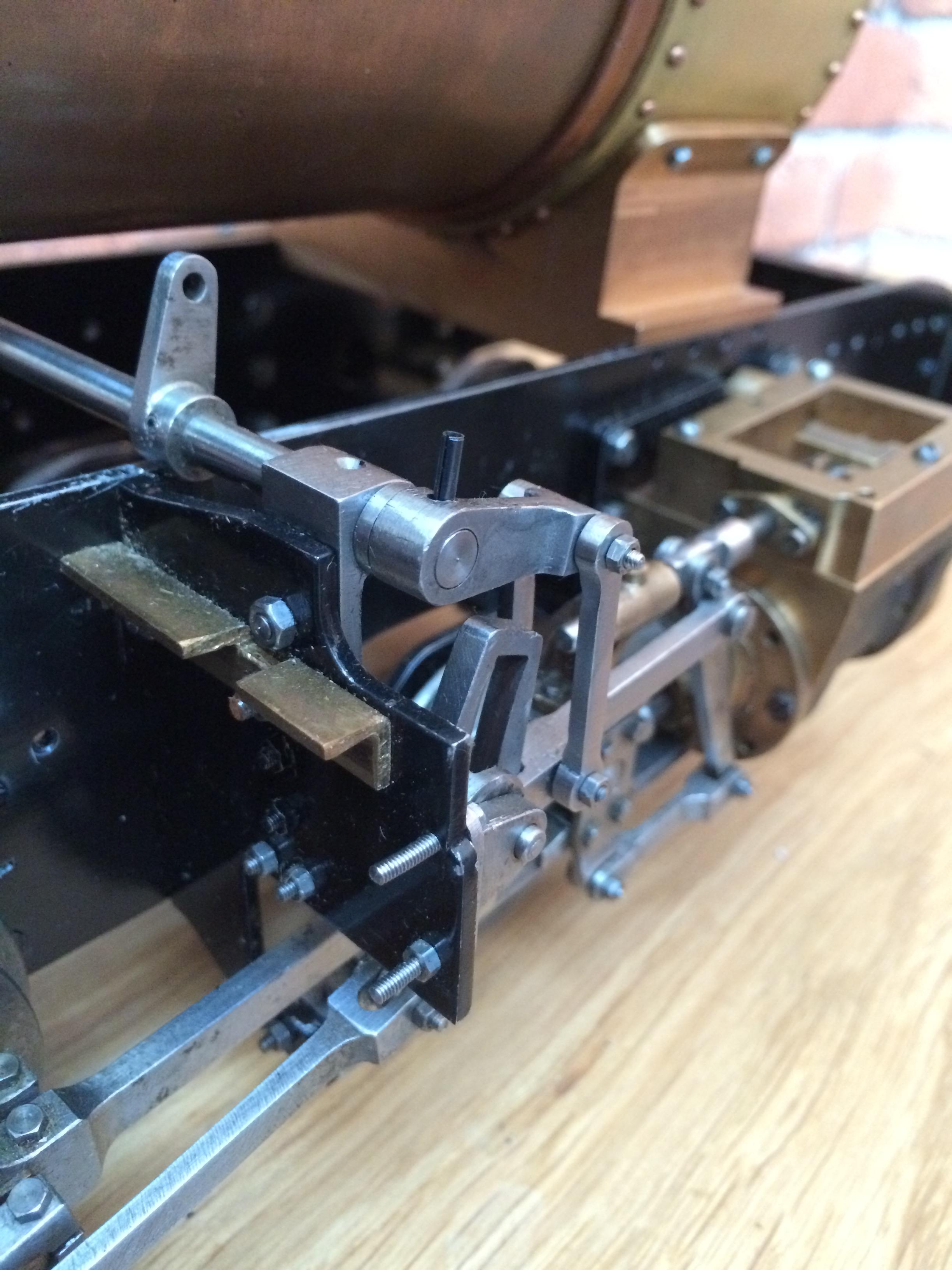 test 3 inch gauge Spencer WD live steam locomotive for sale 20