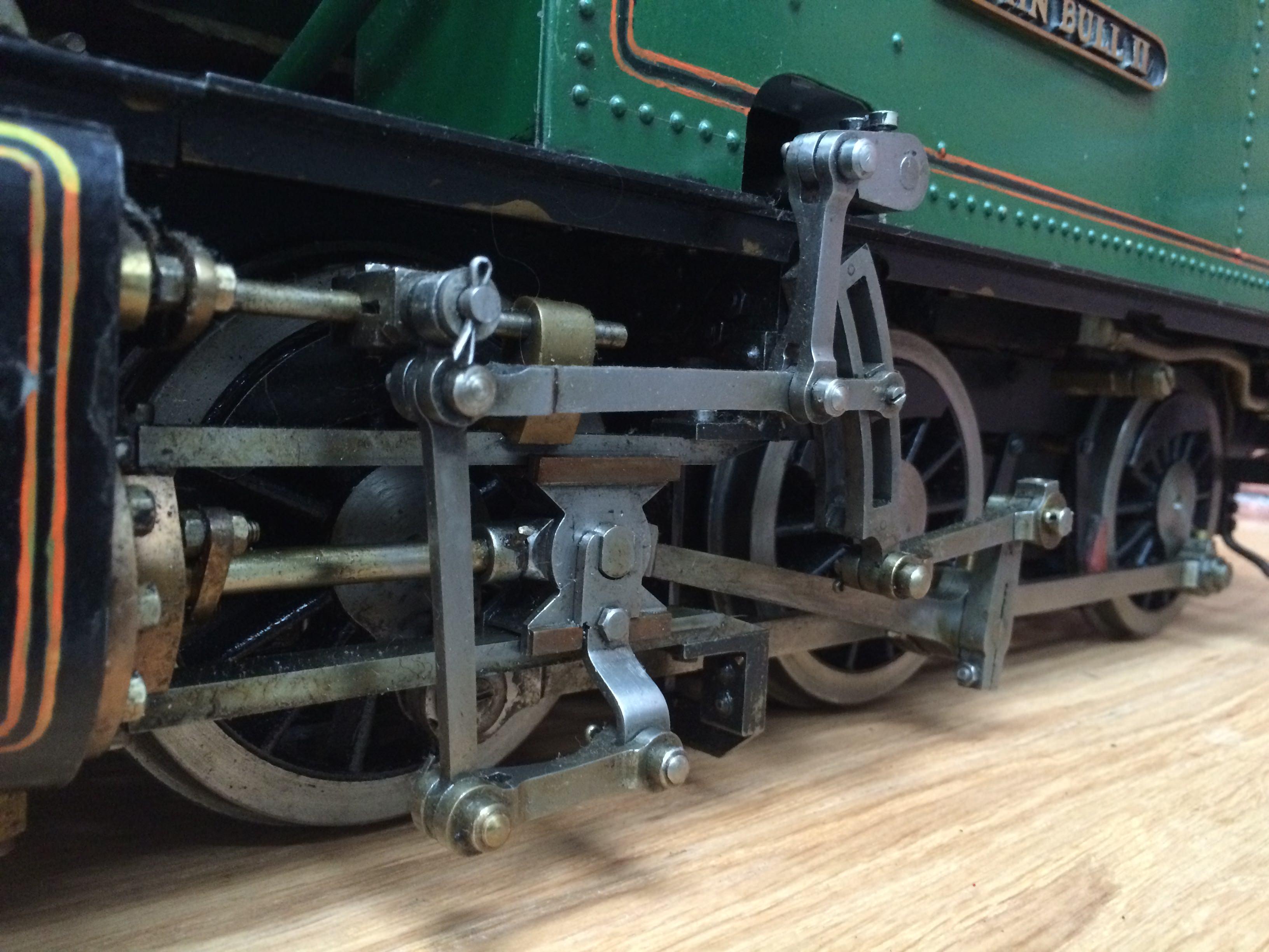 test 3 inch gauge freelance live steam tank engine for sale 03