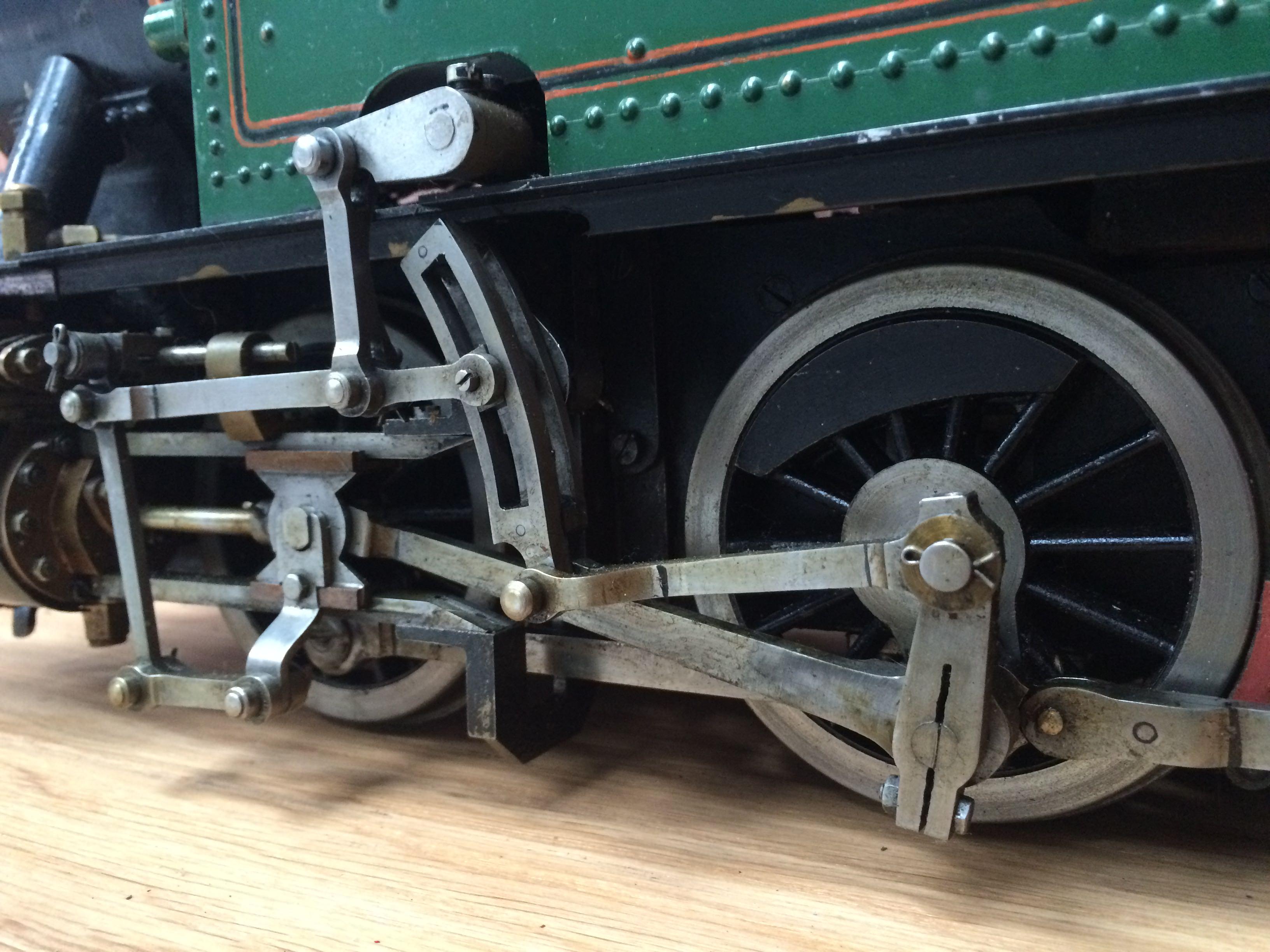 test 3 inch gauge freelance live steam tank engine for sale 04