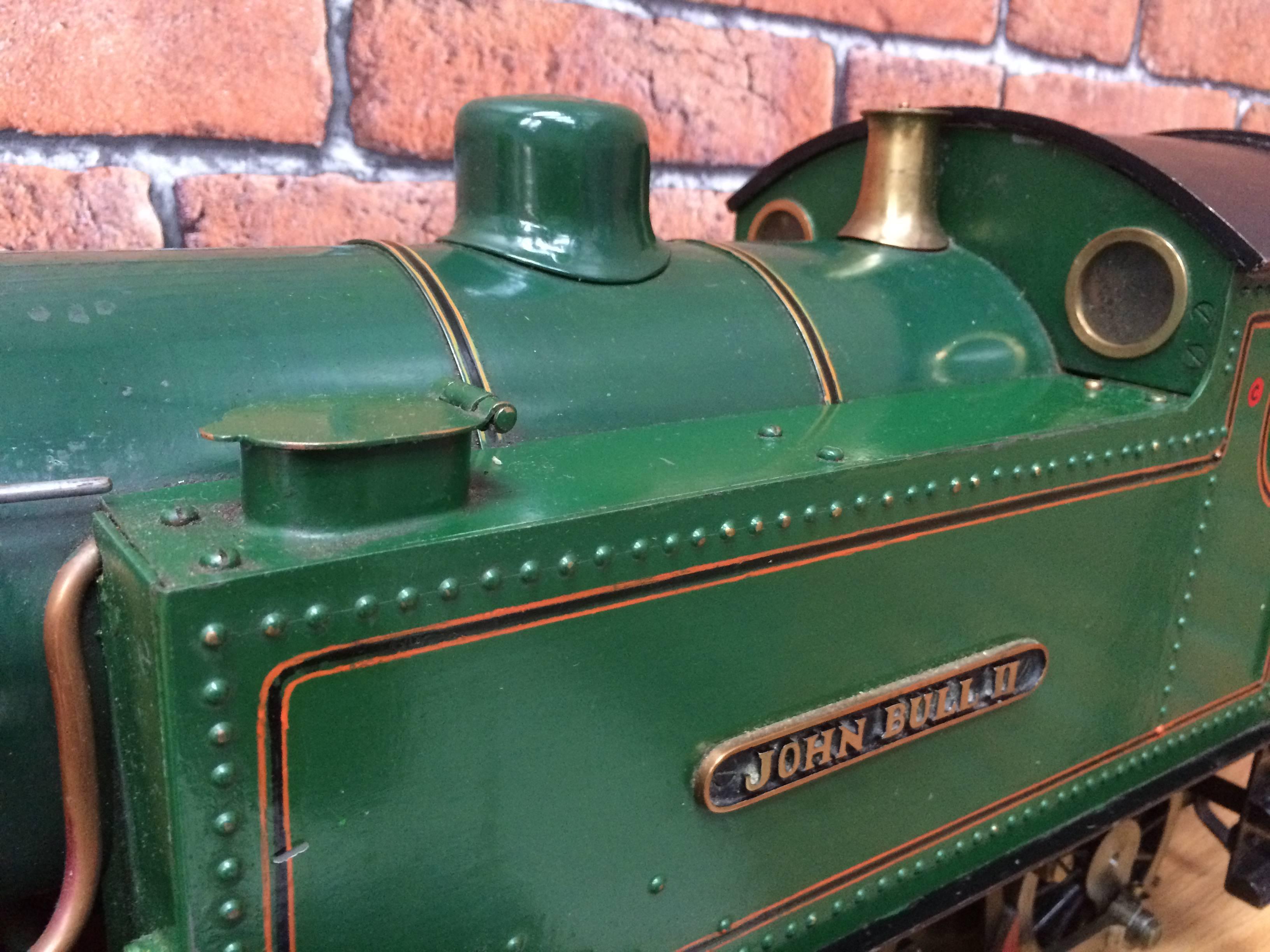test 3 inch gauge freelance live steam tank engine for sale 05