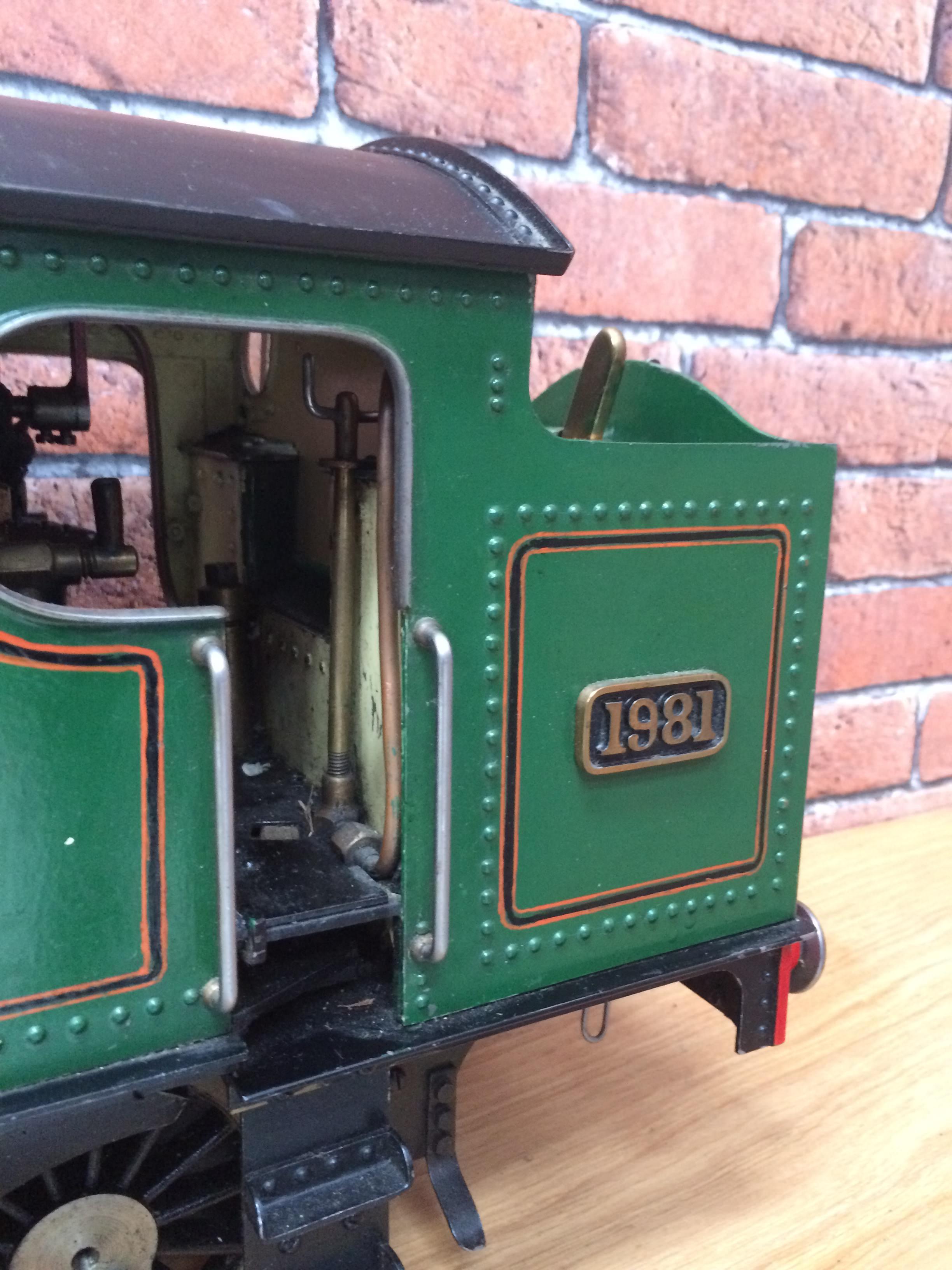 test 3 inch gauge freelance live steam tank engine for sale 08
