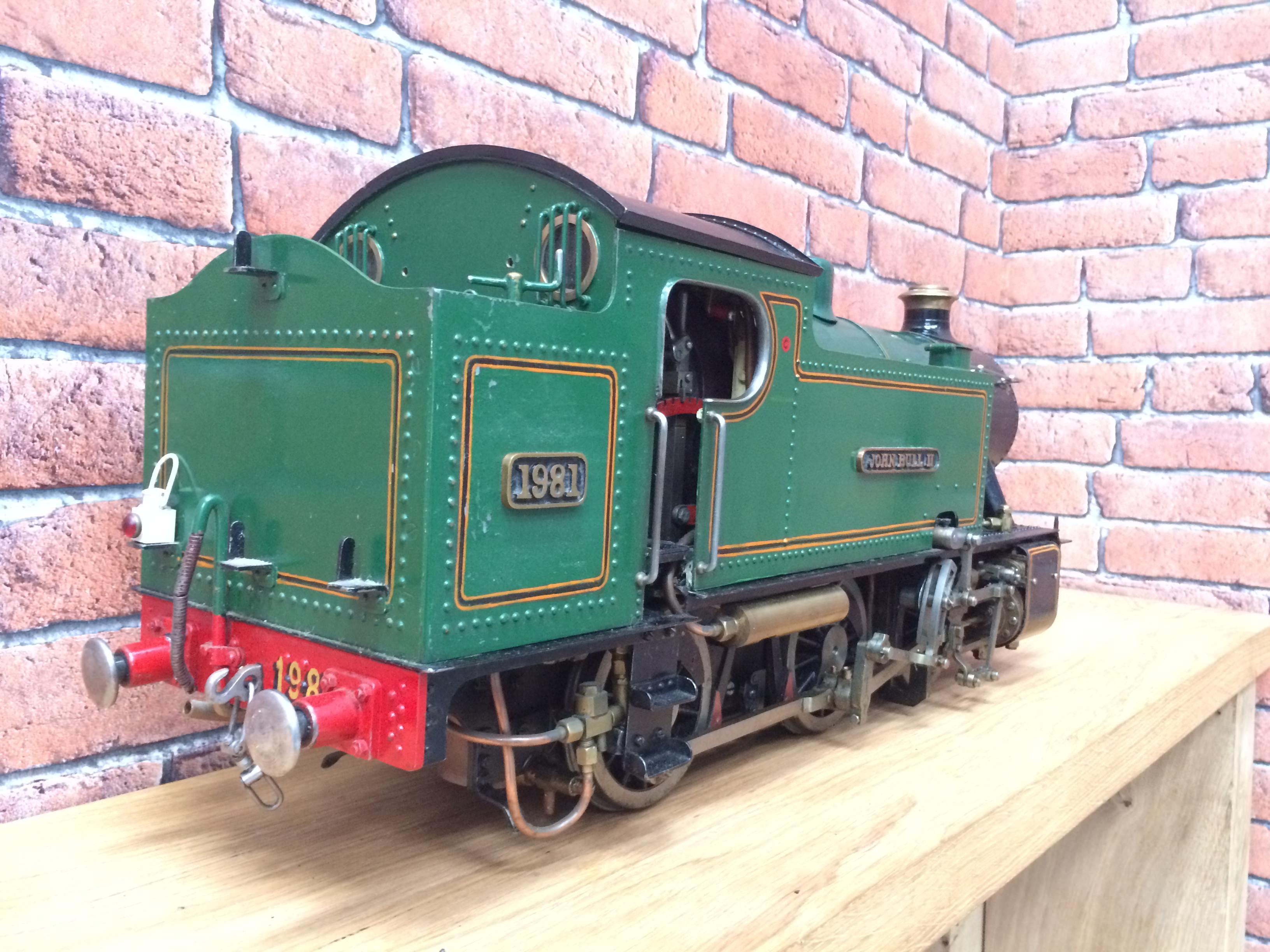 test 3 inch gauge freelance live steam tank engine for sale 09