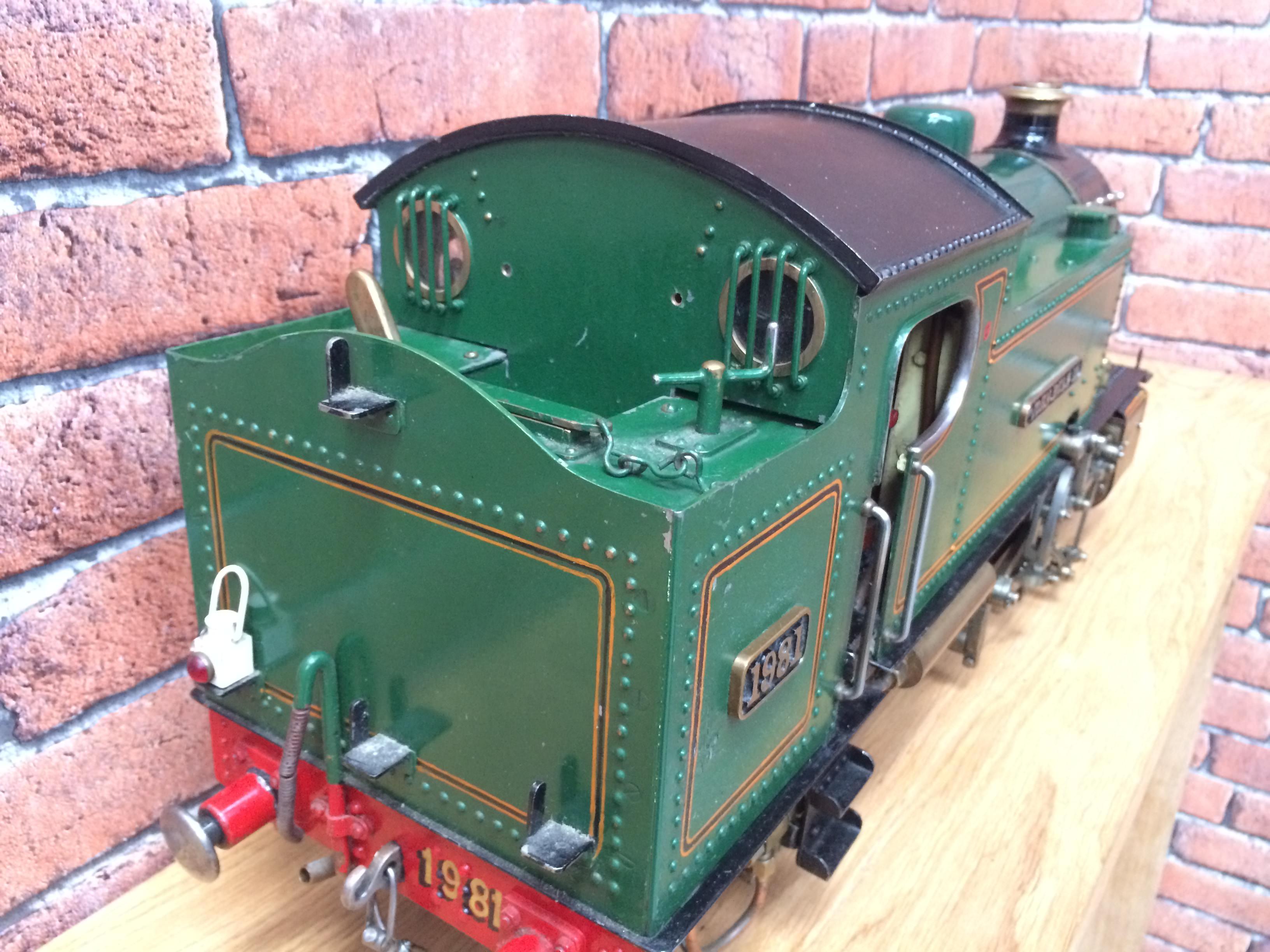 test 3 inch gauge freelance live steam tank engine for sale 10