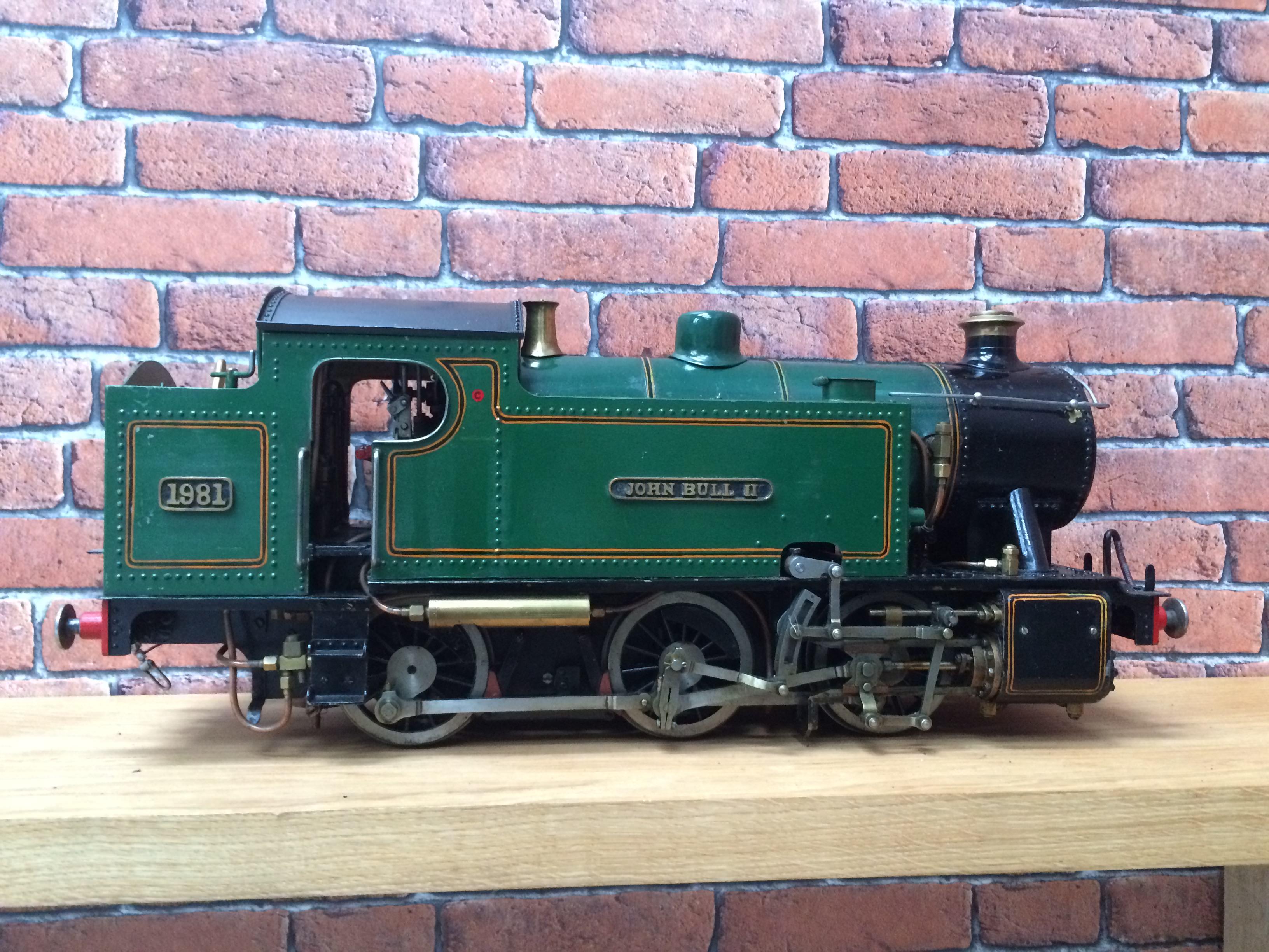 test 3 inch gauge freelance live steam tank engine for sale 13