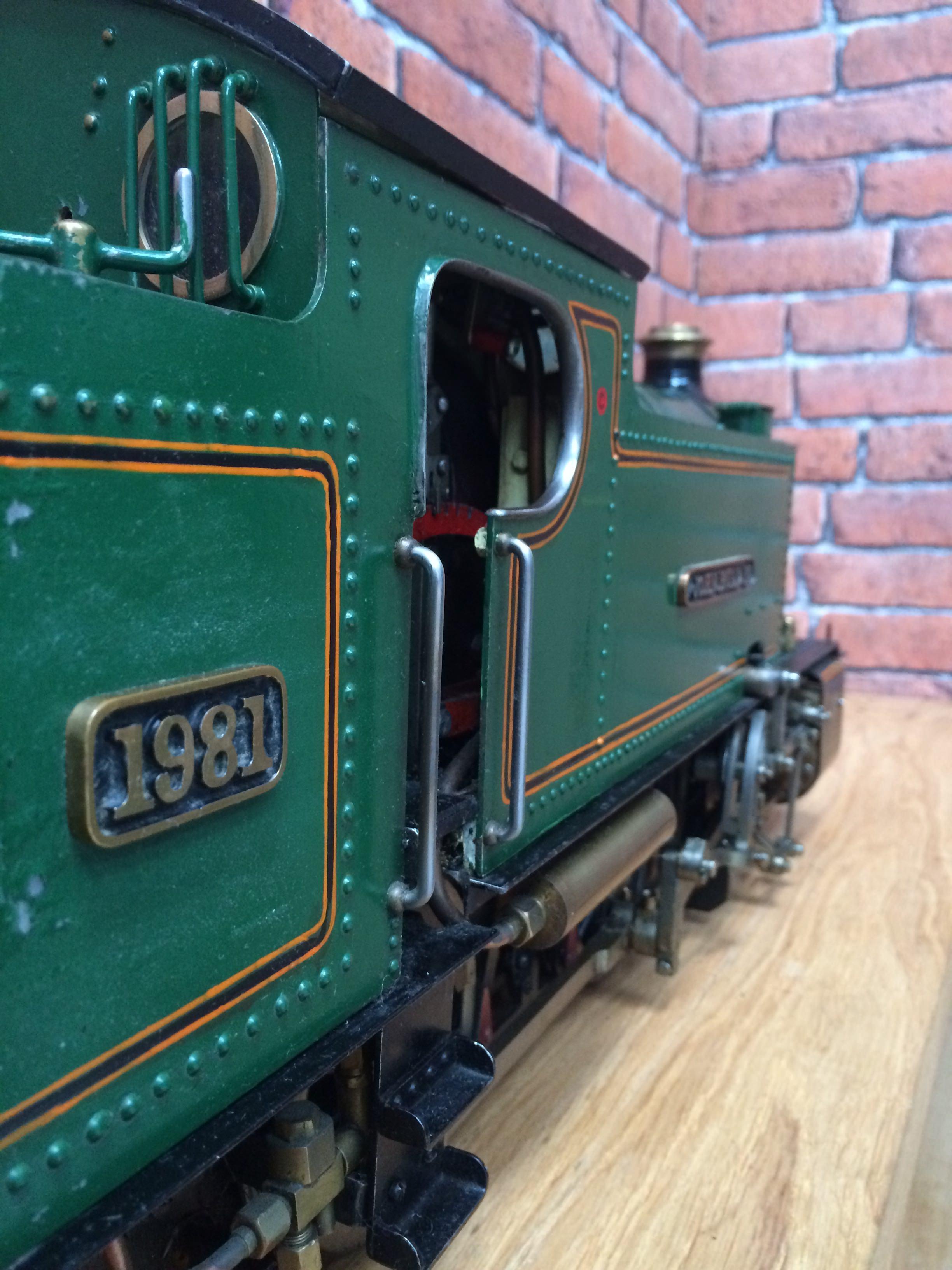 test 3 inch gauge freelance live steam tank engine for sale 14