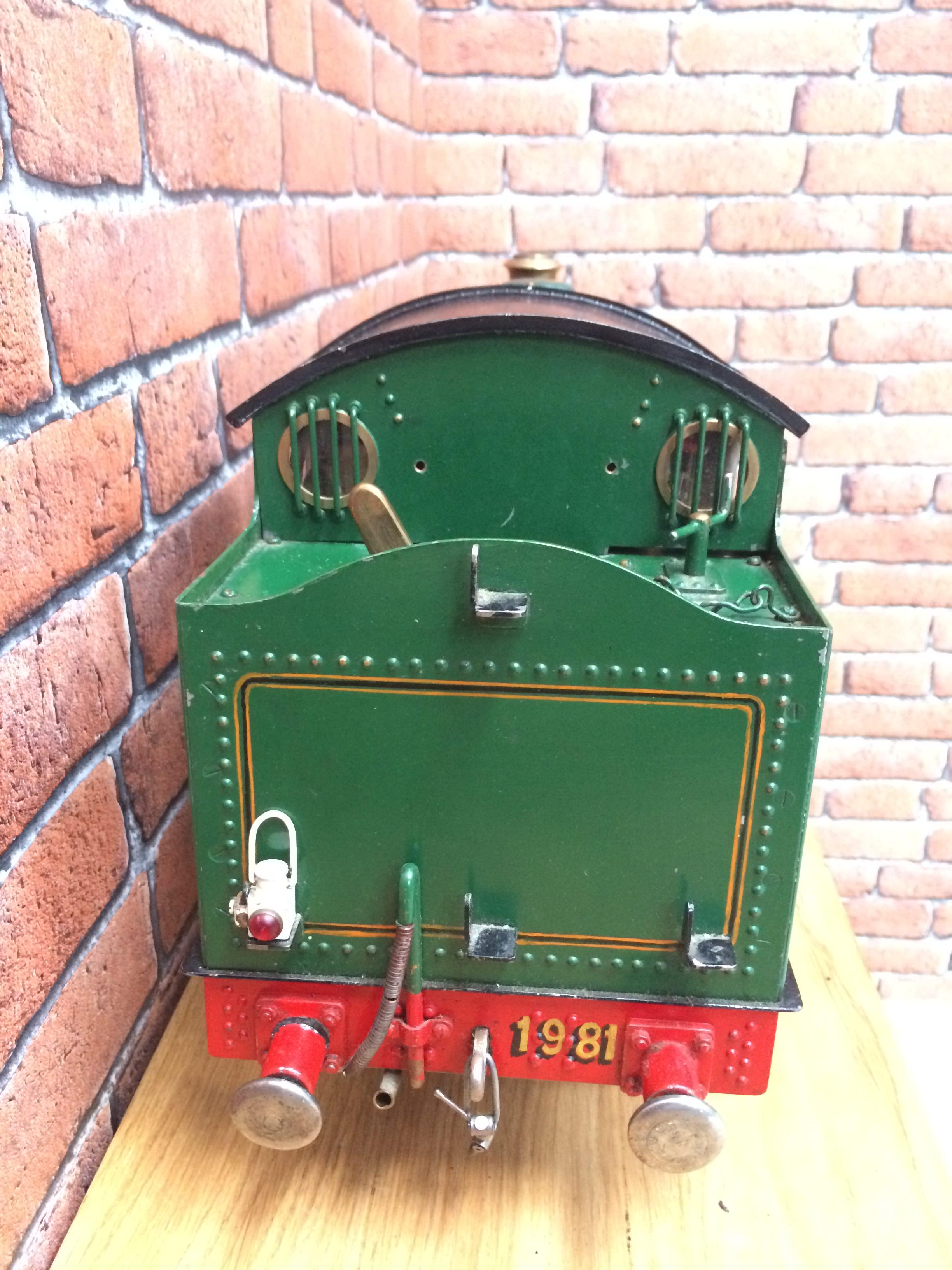 test 3 inch gauge freelance live steam tank engine for sale 15