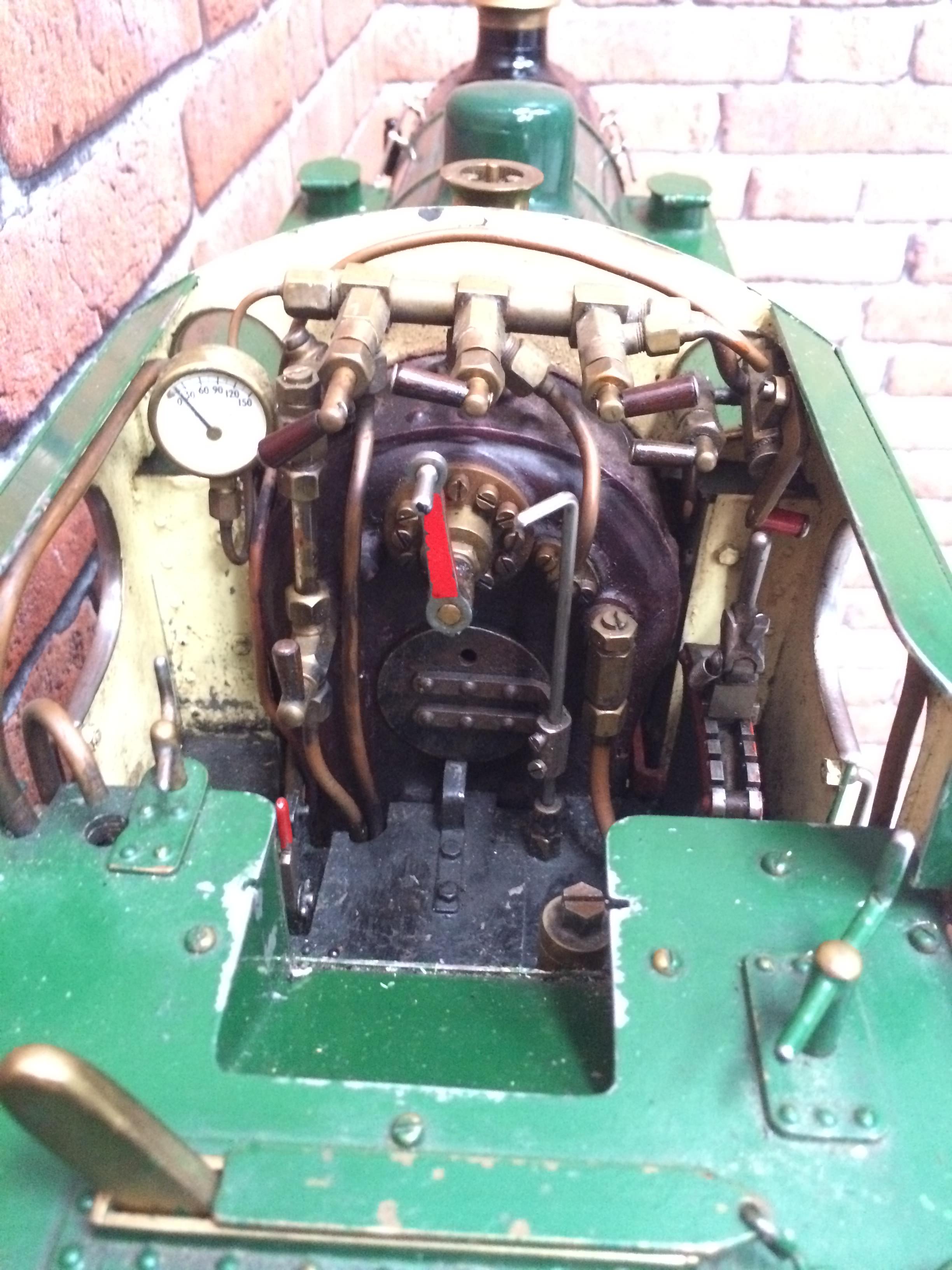 test 3 inch gauge freelance live steam tank engine for sale 16