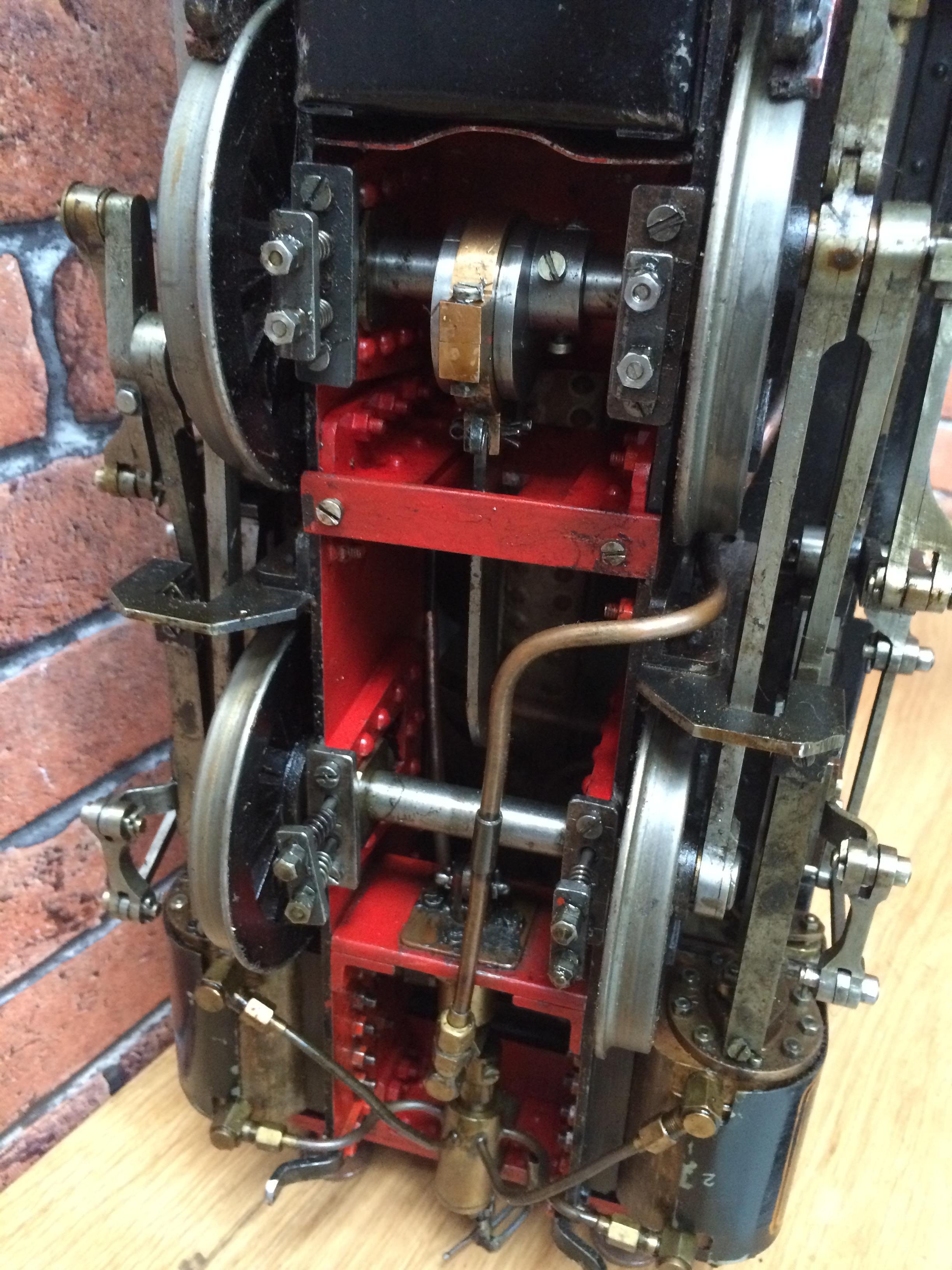 test 3 inch gauge freelance live steam tank engine for sale 20