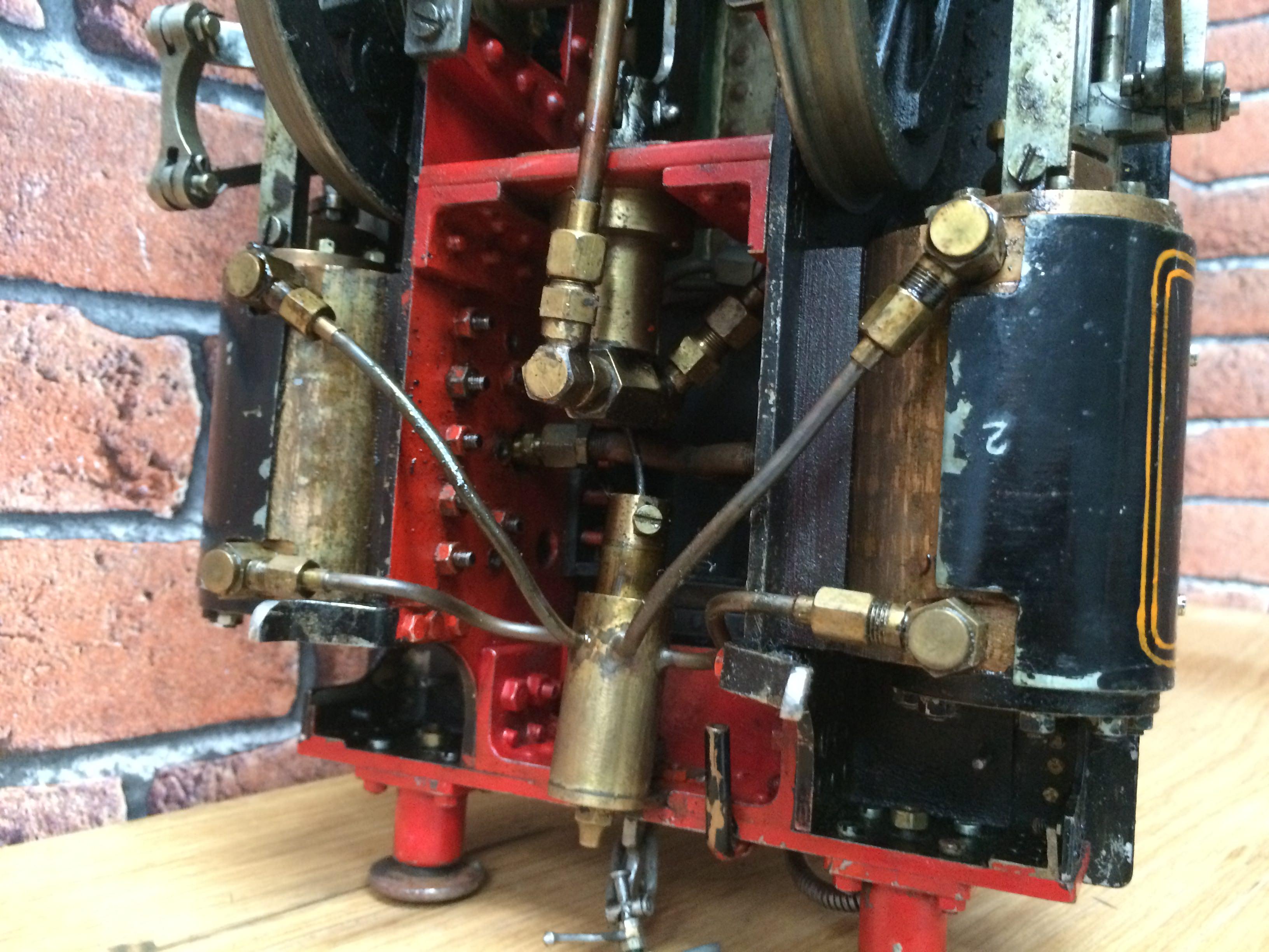 test 3 inch gauge freelance live steam tank engine for sale 22