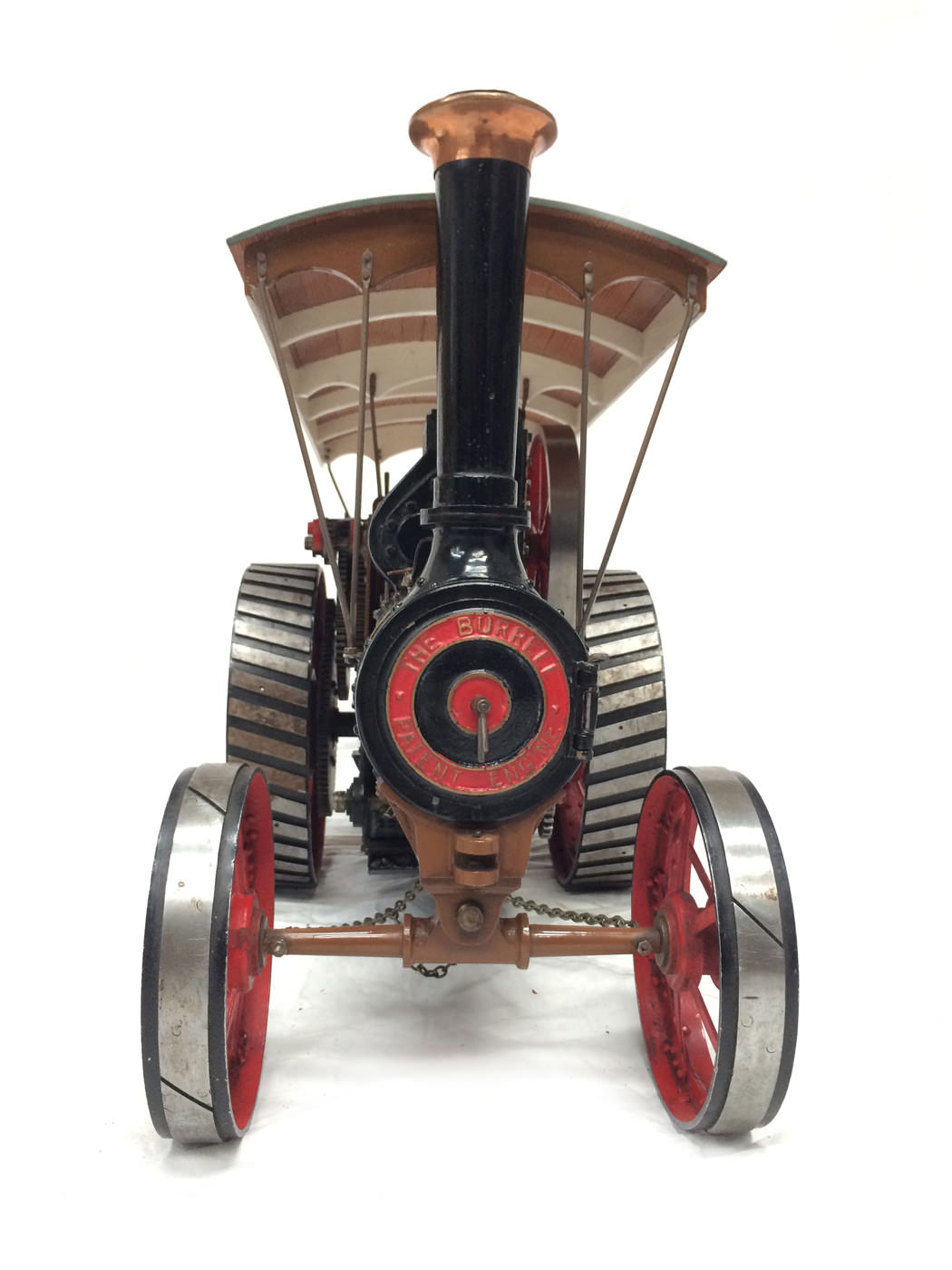 test 1 scale Burrell SCC Single Crank Compound Traction Engine live steam for sale 02