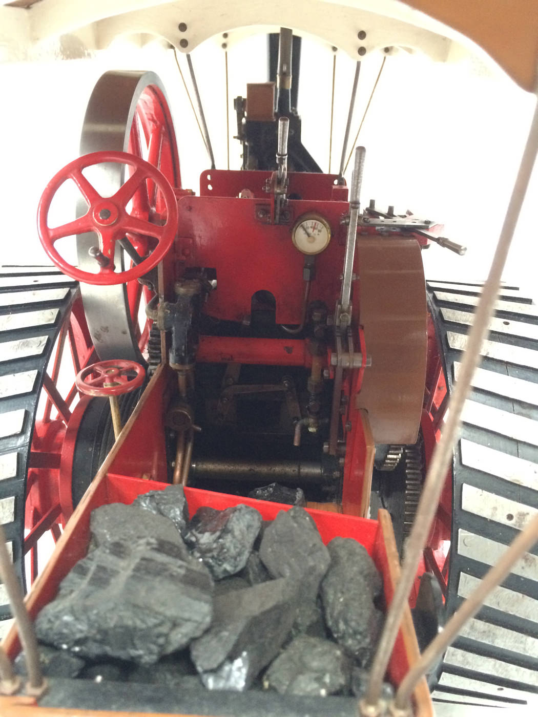 test 1 scale Burrell SCC Single Crank Compound Traction Engine live steam for sale 06