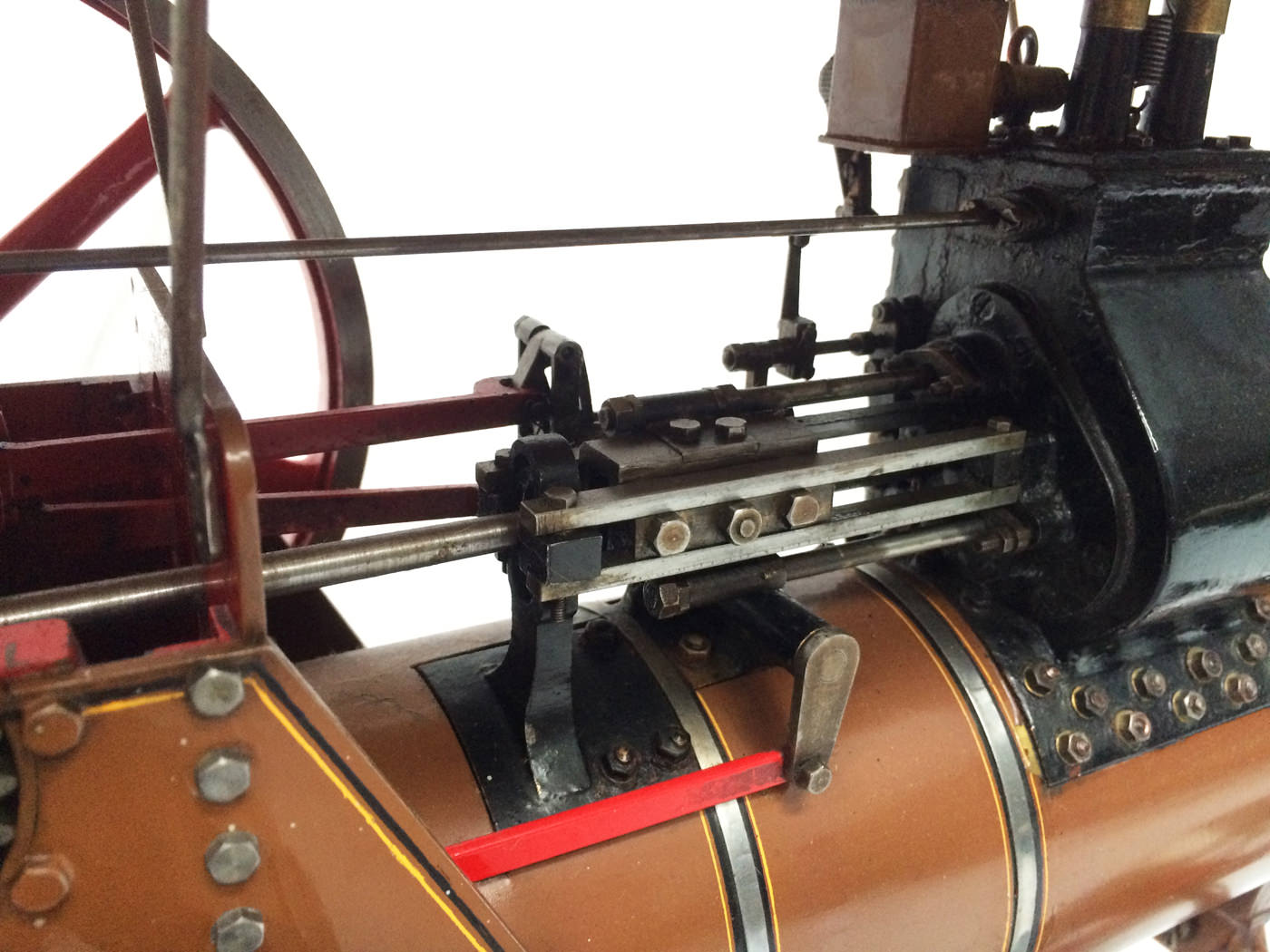 test 1 scale Burrell SCC Single Crank Compound Traction Engine live steam for sale 08