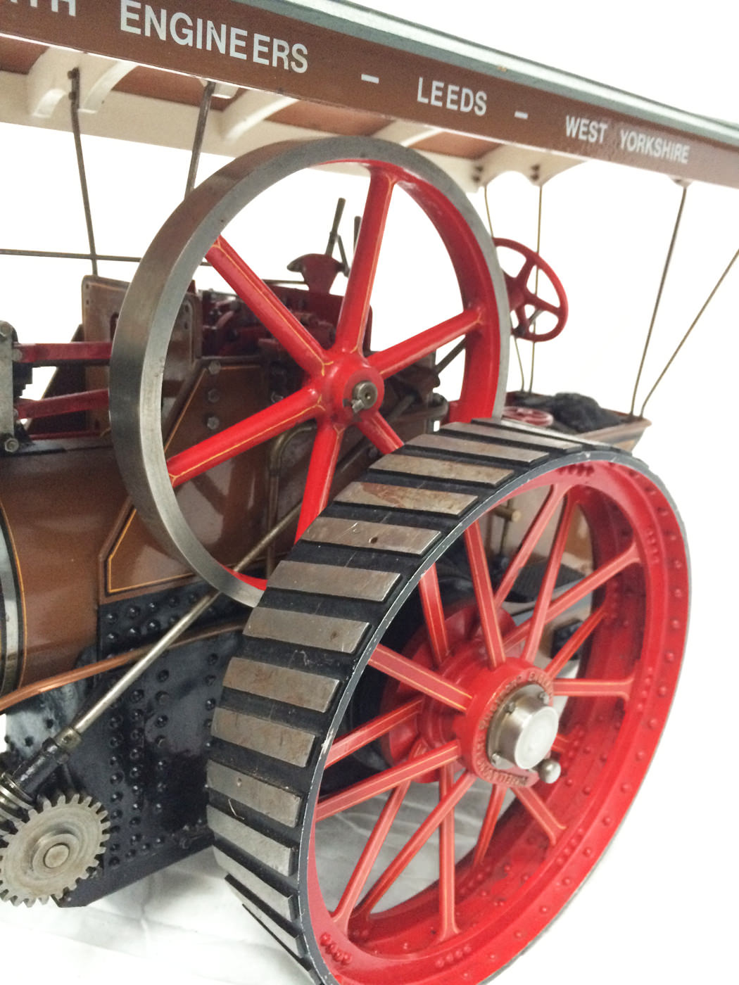 test 1 scale Burrell SCC Single Crank Compound Traction Engine live steam for sale 11