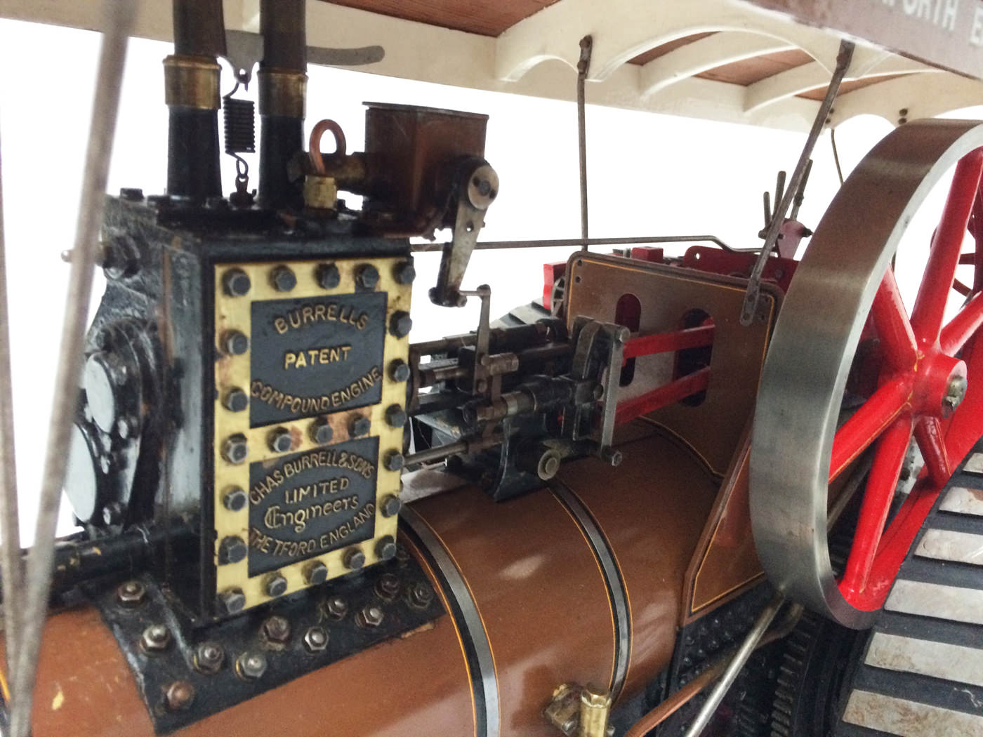 test 1 scale Burrell SCC Single Crank Compound Traction Engine live steam for sale 12