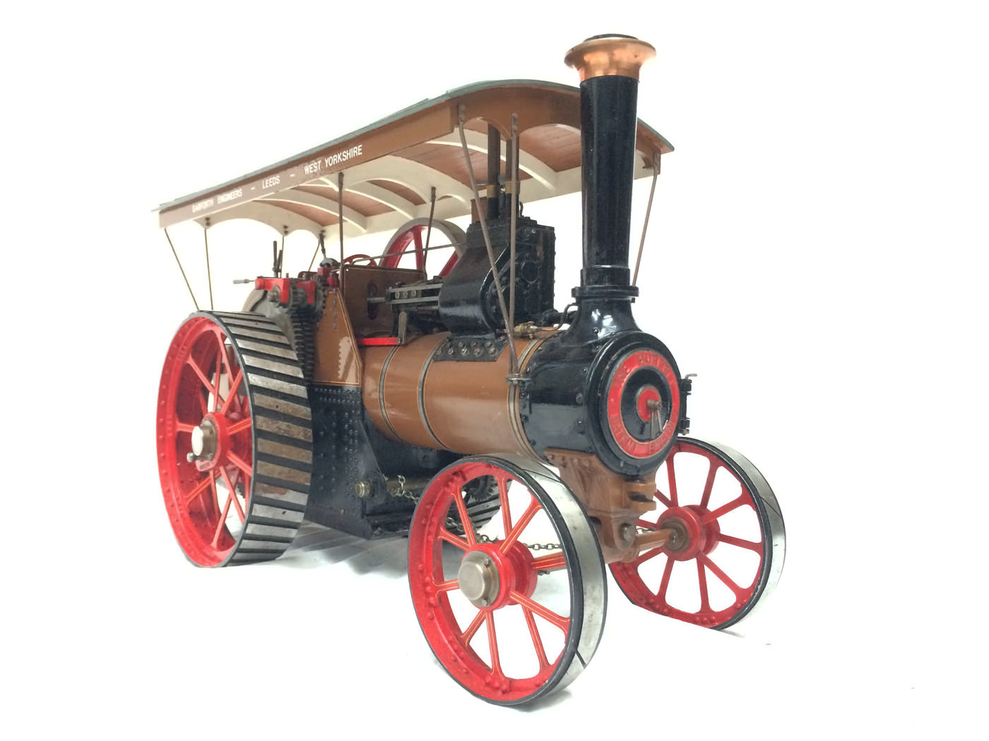 test 1 scale Burrell SCC Single Crank Compound Traction Engine live steam for sale 13