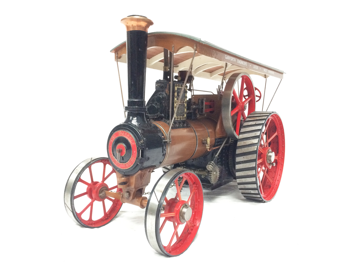 test 1 scale Burrell SCC Single Crank Compound Traction Engine live steam for sale 14