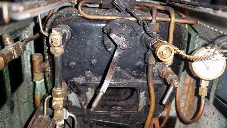test 3 gauge LMS Jubilee live steam locomotive for sale 01