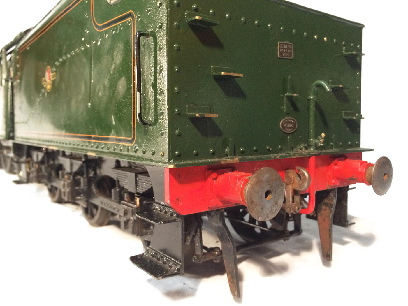 test 3 gauge LMS Stanier Jubilee live steam locomotive for sale 01
