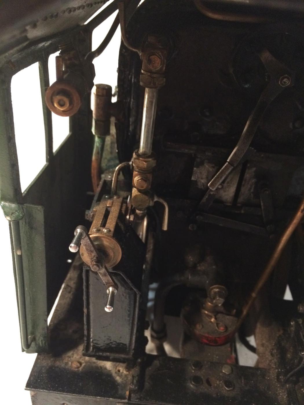 test 3 gauge LMS Stanier Jubilee live steam locomotive for sale 07