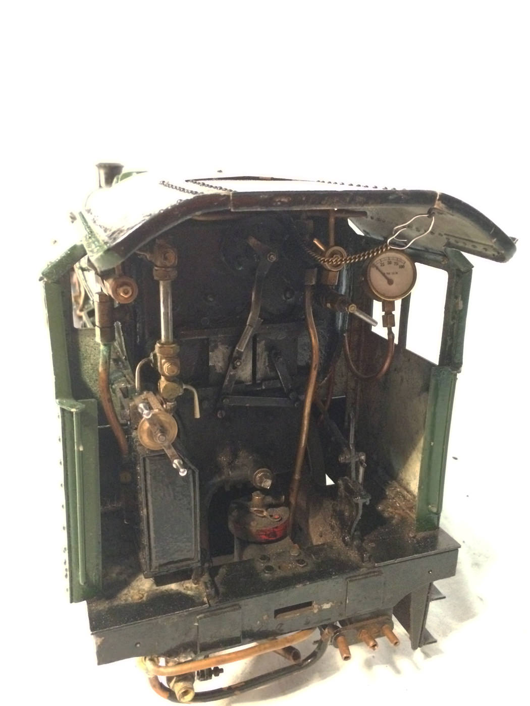 test 3 gauge LMS Stanier Jubilee live steam locomotive for sale 08