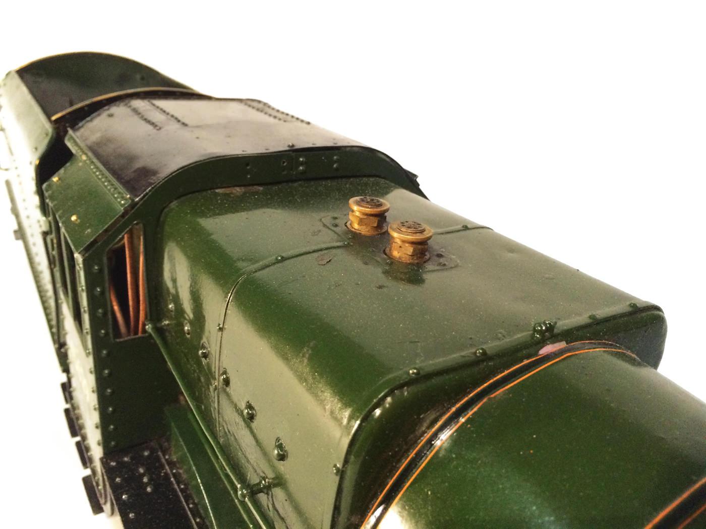 test 3 gauge LMS Stanier Jubilee live steam locomotive for sale 10
