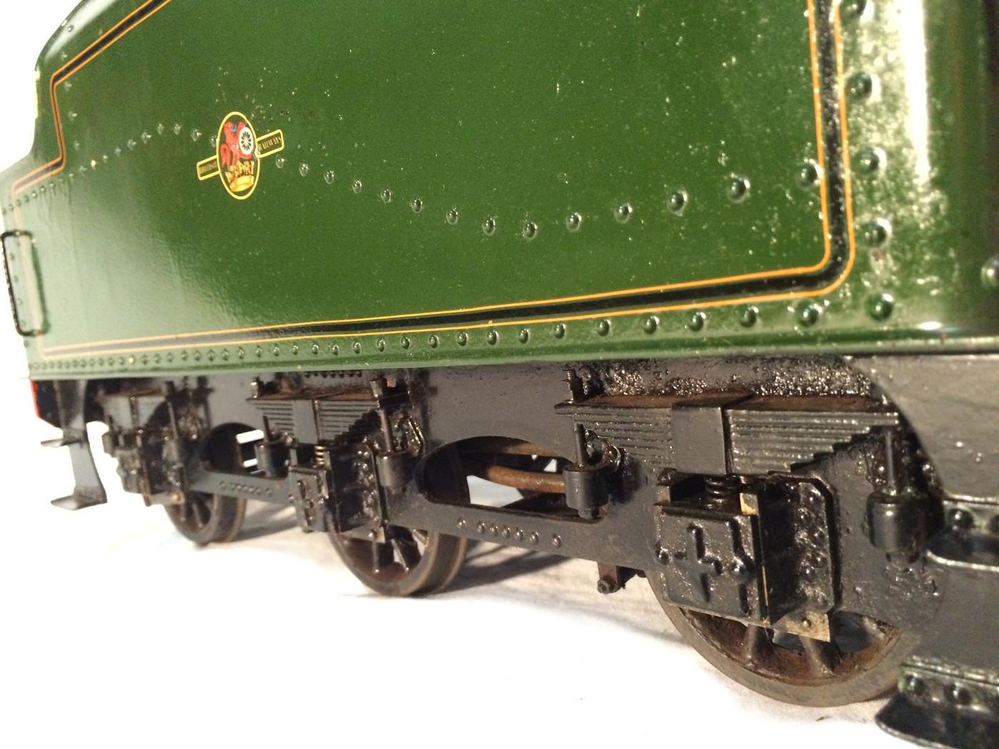 test 3 gauge LMS Stanier Jubilee live steam locomotive for sale 13