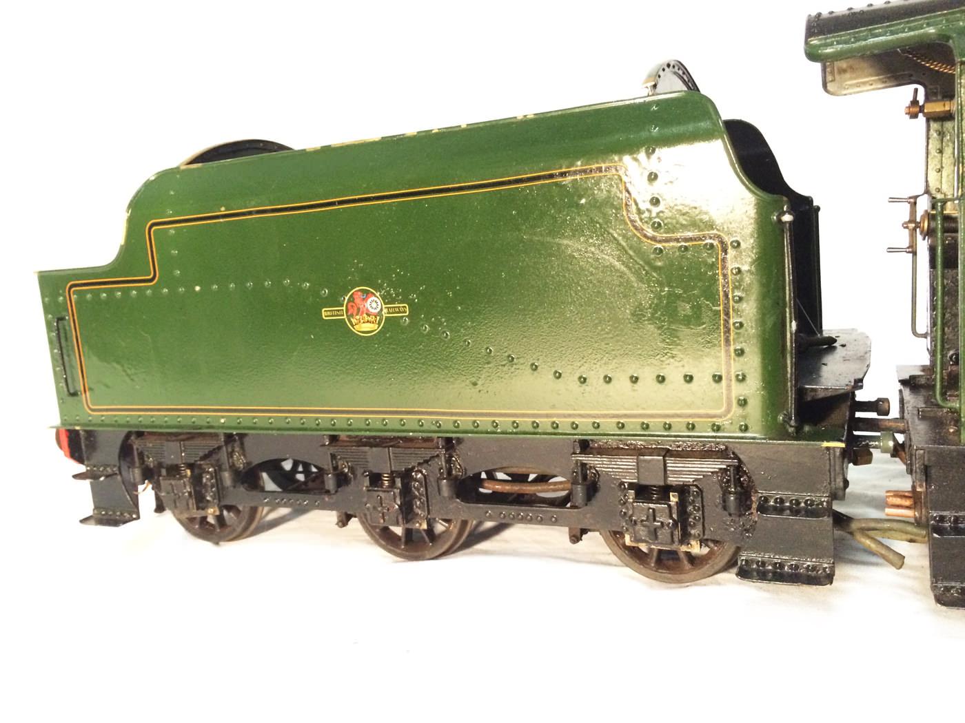test 3 gauge LMS Stanier Jubilee live steam locomotive for sale 14