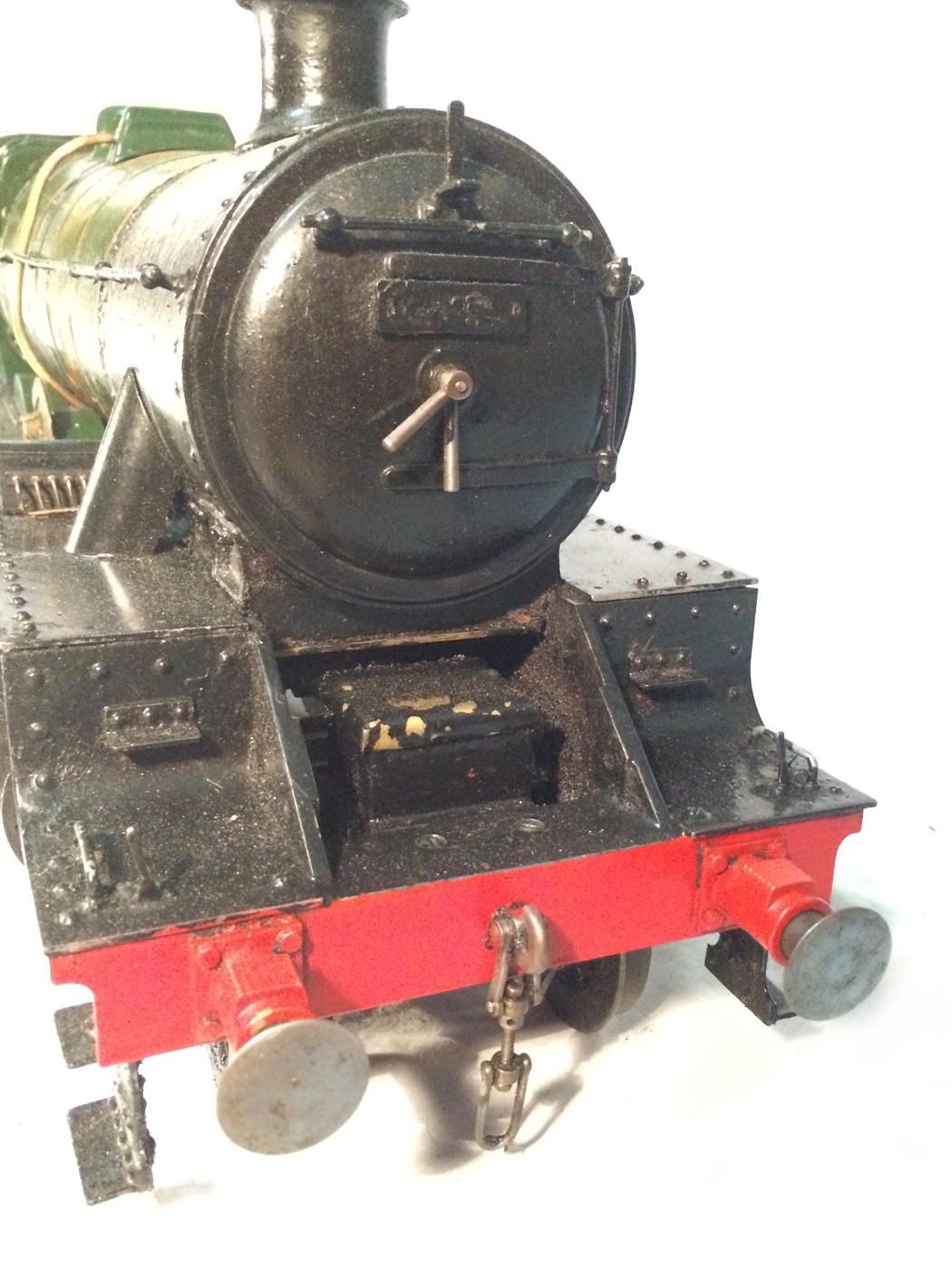 test 3 gauge LMS Stanier Jubilee live steam locomotive for sale 16